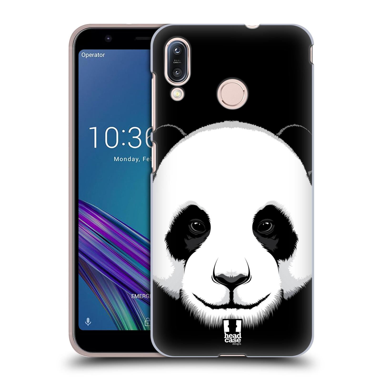 Pouzdro na mobil Asus Zenfone Max M1 (ZB555KL) - HEAD CASE - vzor Zvíře kreslená tvář panda