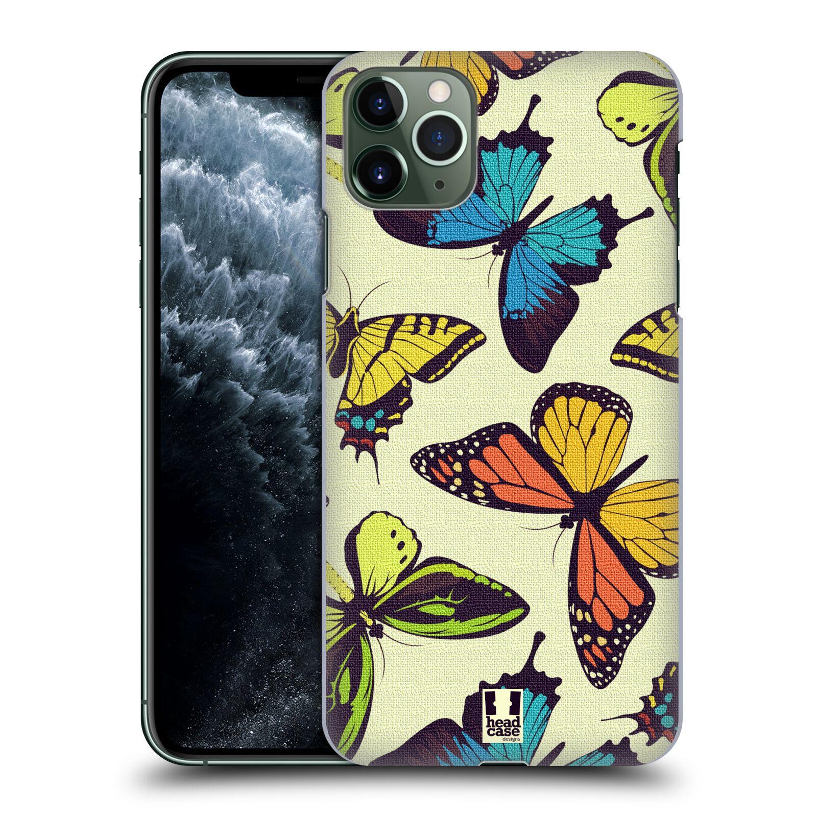 Pouzdro na mobil Apple Iphone 11 PRO MAX - HEAD CASE - vzor Motýlci divočina