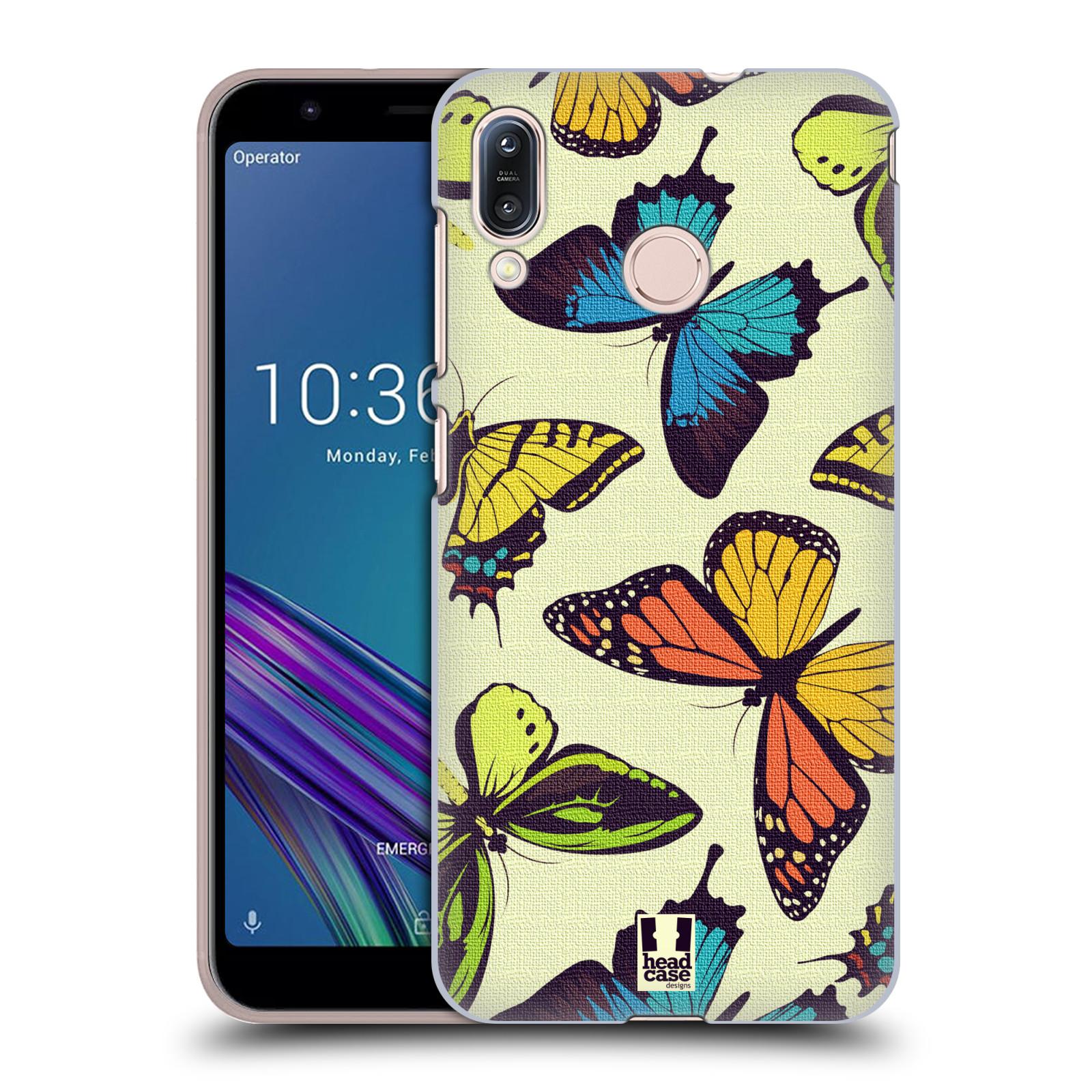Pouzdro na mobil Asus Zenfone Max M1 (ZB555KL) - HEAD CASE - vzor Motýlci divočina