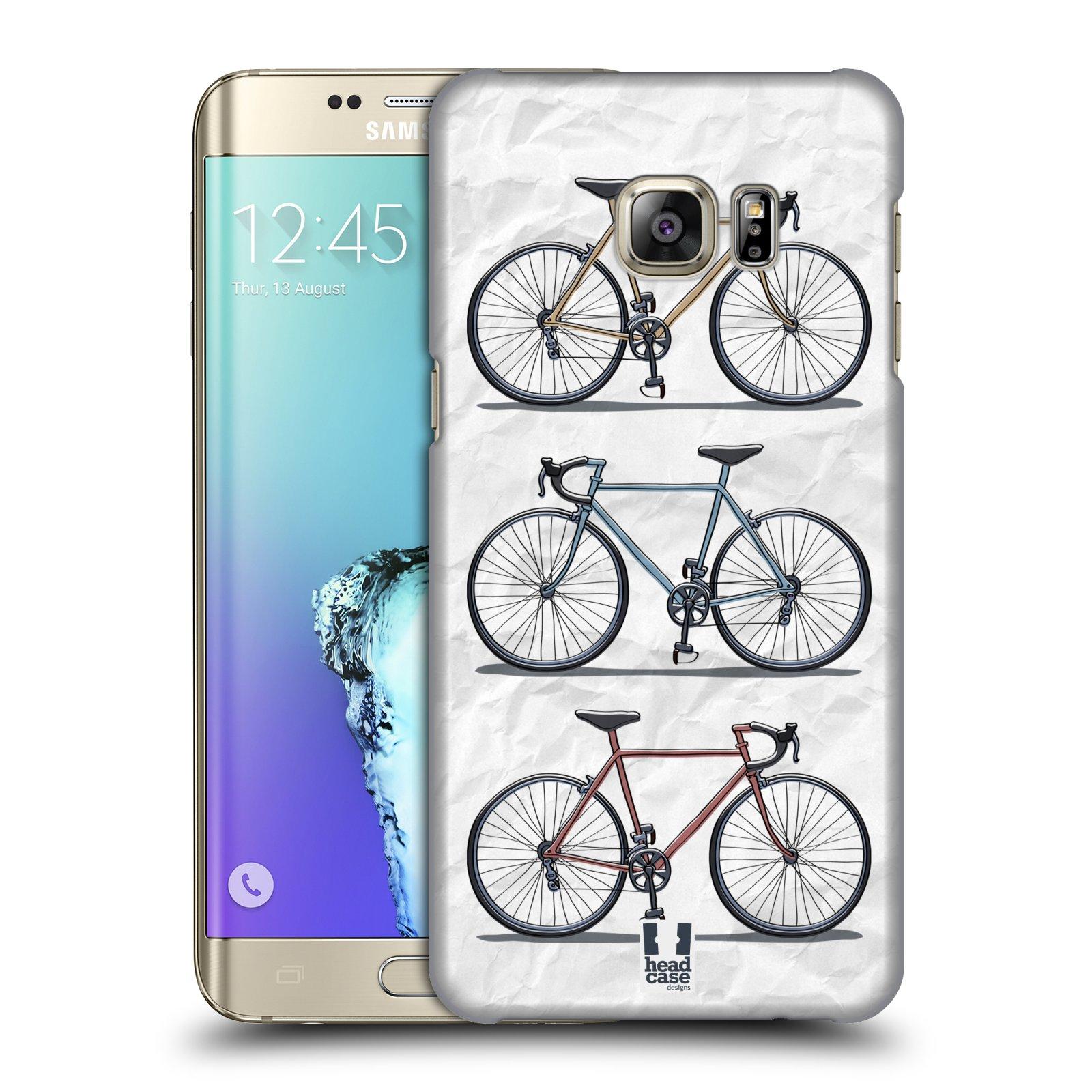 HEAD CASE plastový obal na mobil SAMSUNG Galaxy S6 EDGE+ PLUS (G928F) vzor Retro kola RYCHLOST