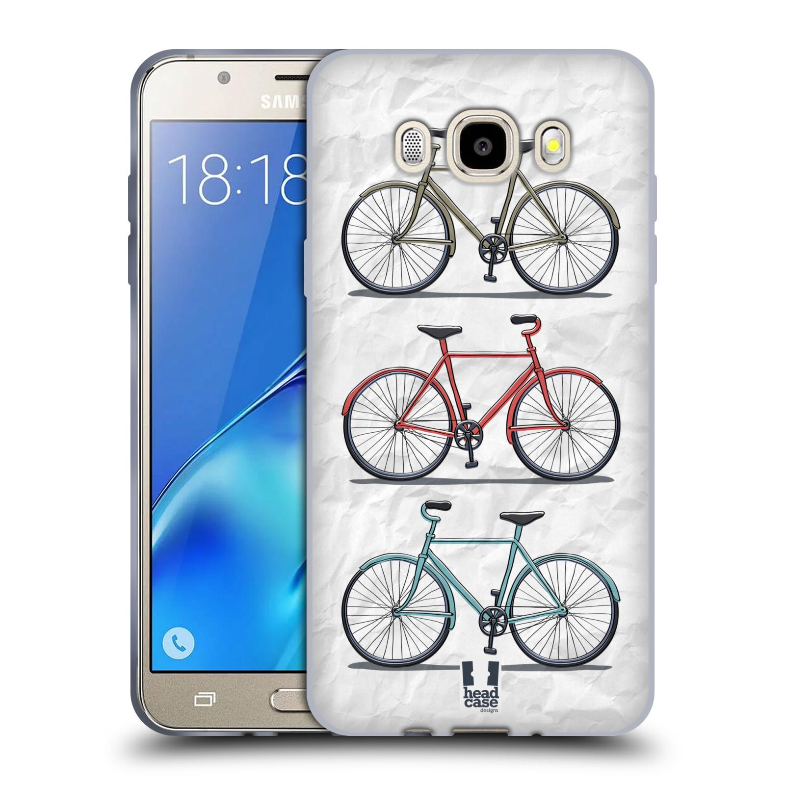 HEAD CASE silikonový obal, kryt na mobil Samsung Galaxy J5 2016, J510, J510F, (J510F DUAL SIM) vzor Retro kola 3 kola
