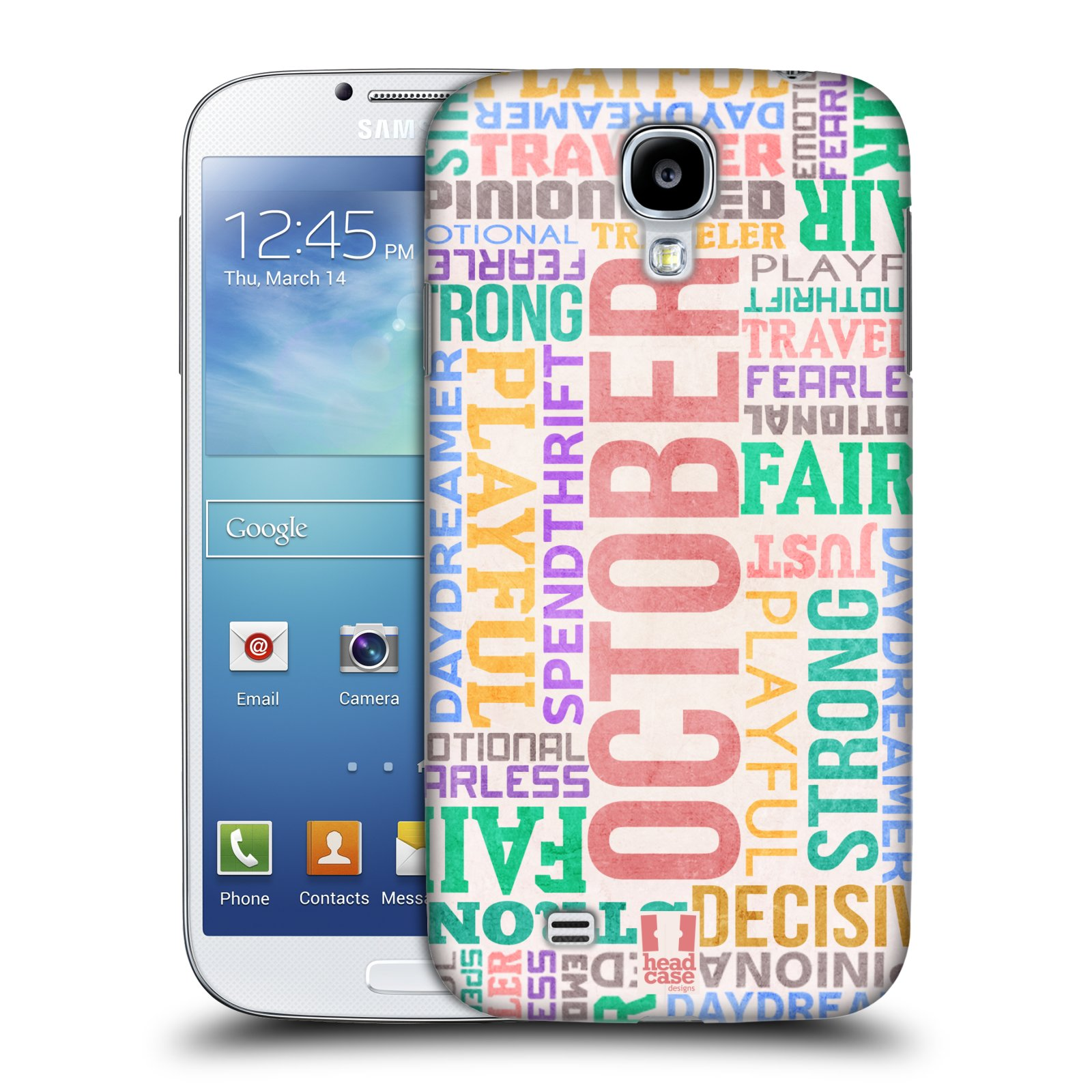 HEAD CASE DESIGNS BIRTH MONTH PERSONALITIES CASE FOR SAMSUNG GALAXY S4 I9500
