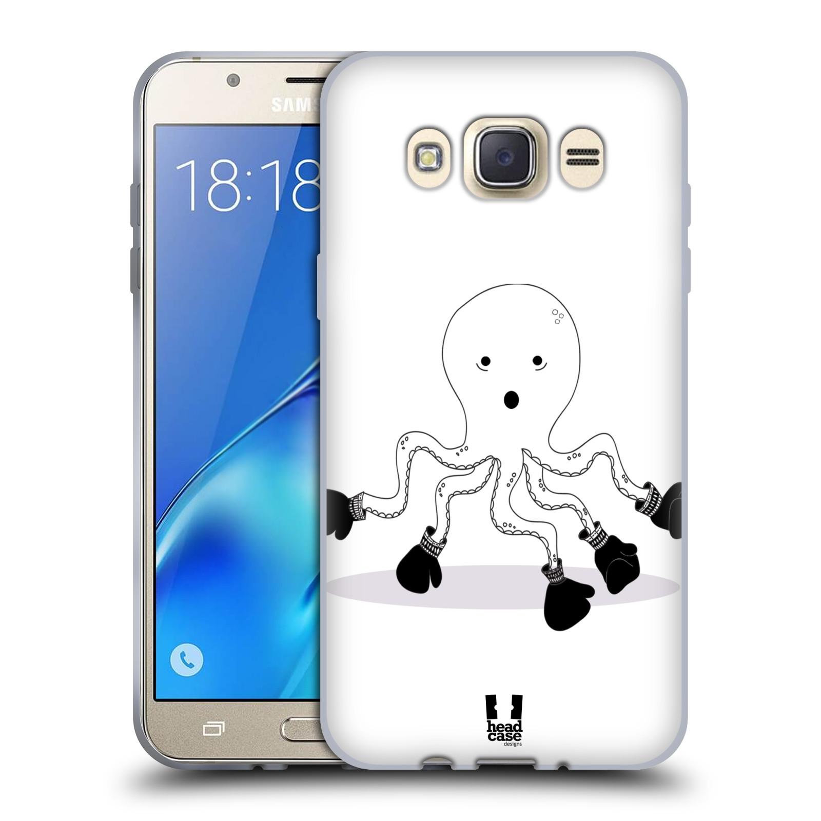 HEAD CASE silikonový obal, kryt na mobil Samsung Galaxy J7 2016 (J710, J710F) vzor Bizardní kreslená zvířátka boxer chobotnice