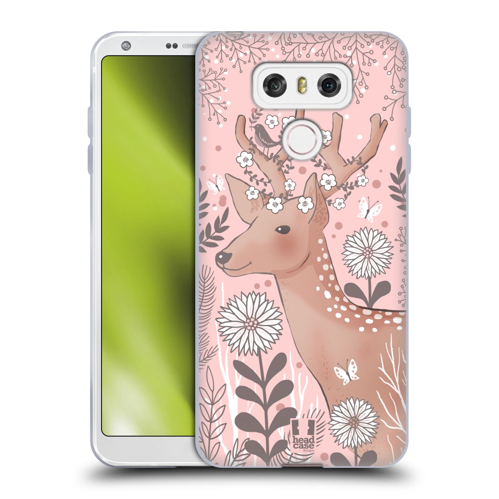 HEAD-CASE-DESIGNS-BLUSH-GARDEN-SOFT-GEL-CASE-FOR-LG-G6