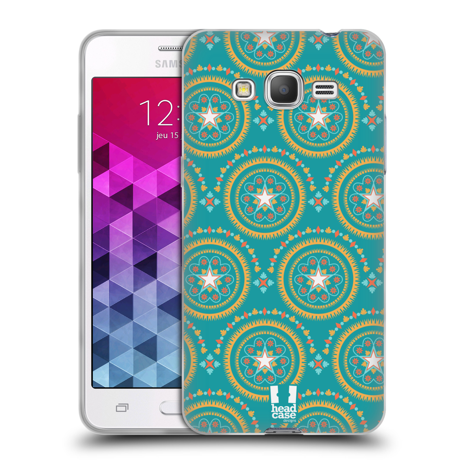 HEAD CASE BOHEMIAN PATTERNS GEL CASE FOR SAMSUNG GALAXY GRAND PRIME 3G DUOS