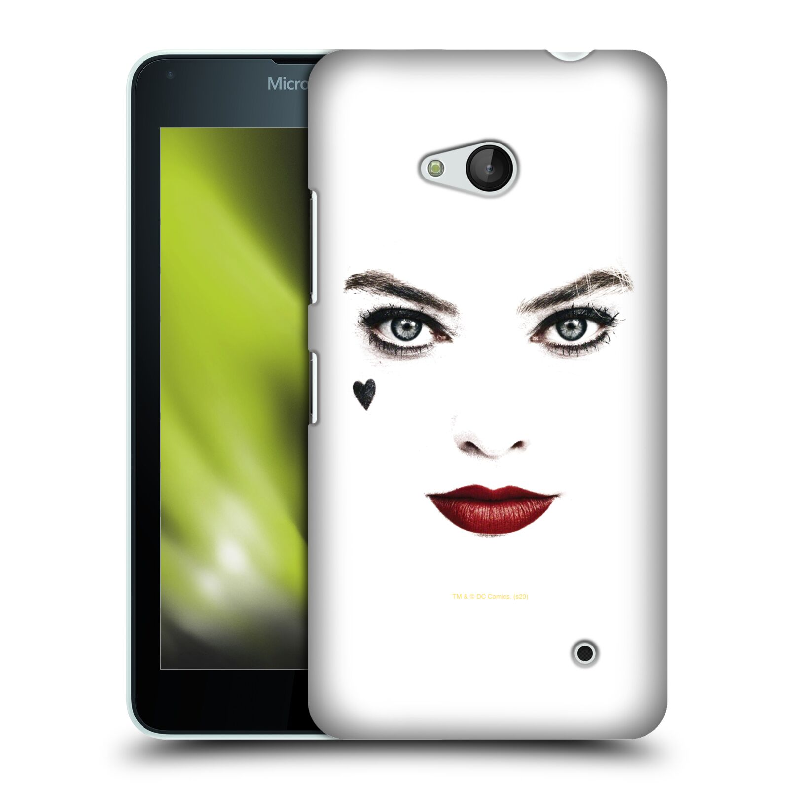 Pouzdro na mobil Microsoft Lumia 640 / 640 DUAL SIM - HEAD CASE - DC komix Harely Quinn - tvář