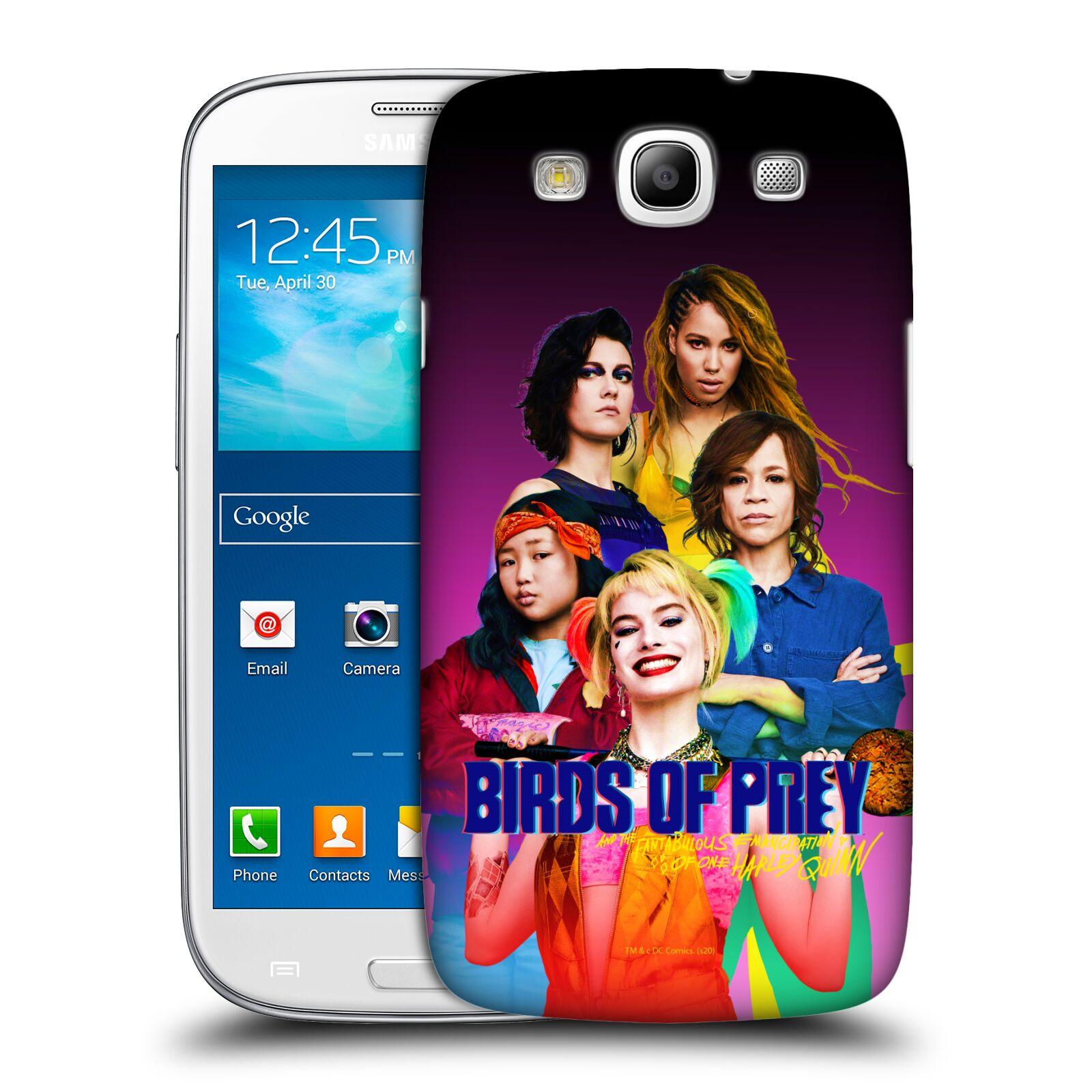 Pouzdro na mobil Samsung Galaxy S3 - HEAD CASE - DC komix Harely Quinn - skupina