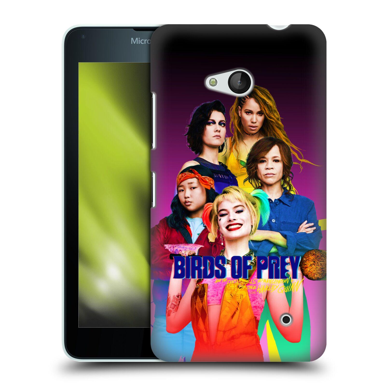 Pouzdro na mobil Microsoft Lumia 640 / 640 DUAL SIM - HEAD CASE - DC komix Harely Quinn - skupina