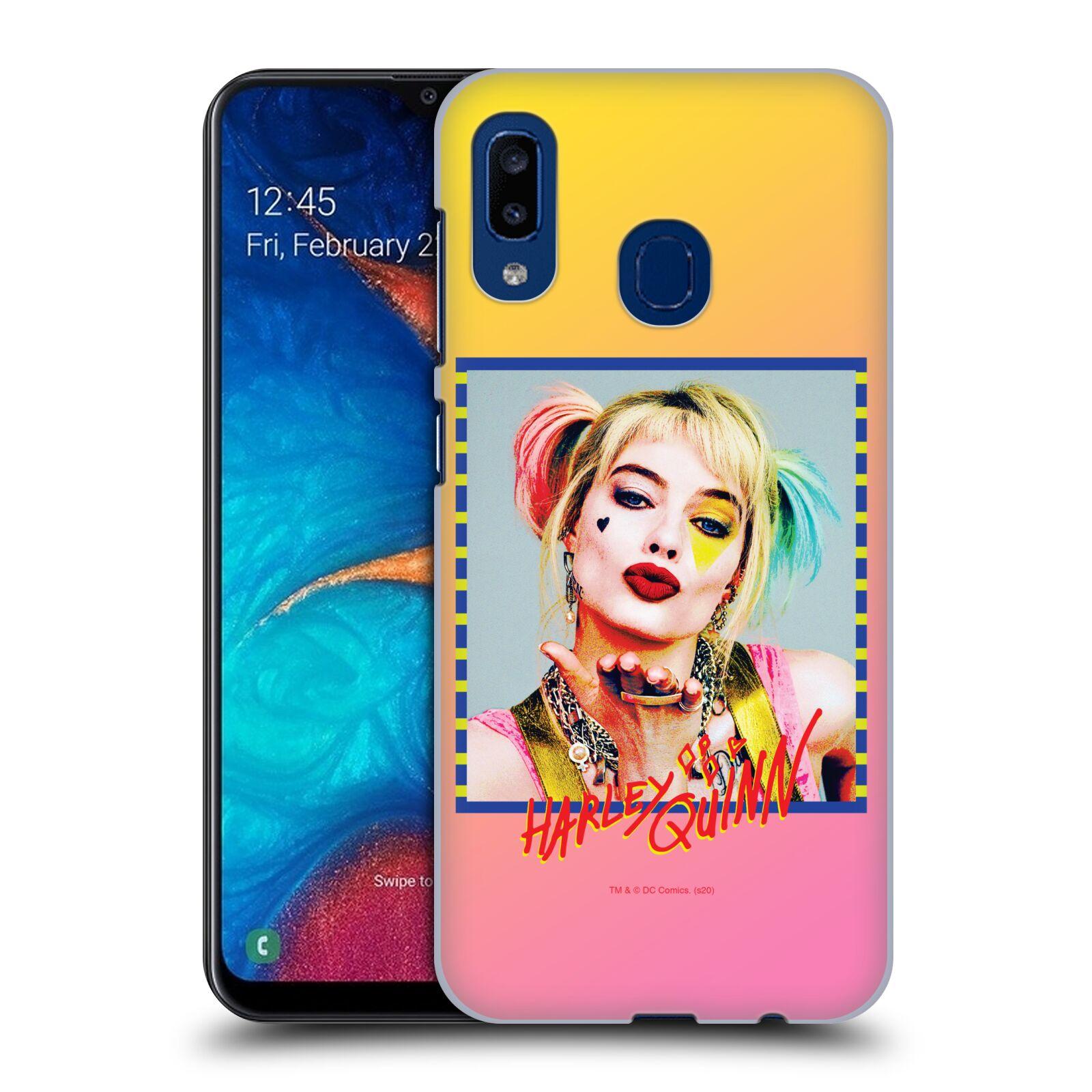 Pouzdro na mobil Samsung Galaxy A20 - HEAD CASE - DC komix Harely Quinn
