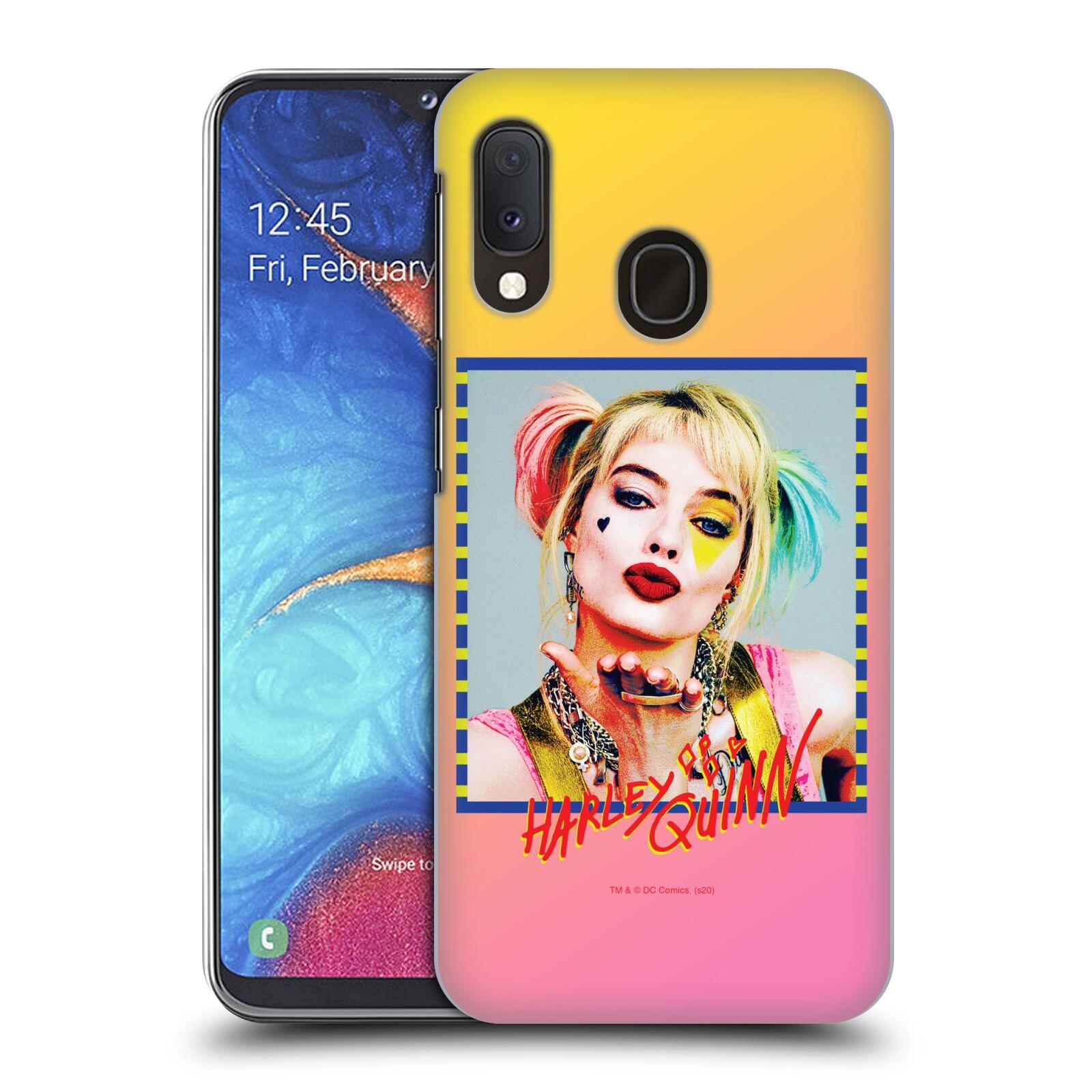 Pouzdro na mobil Samsung Galaxy A20e - HEAD CASE - DC komix Harely Quinn