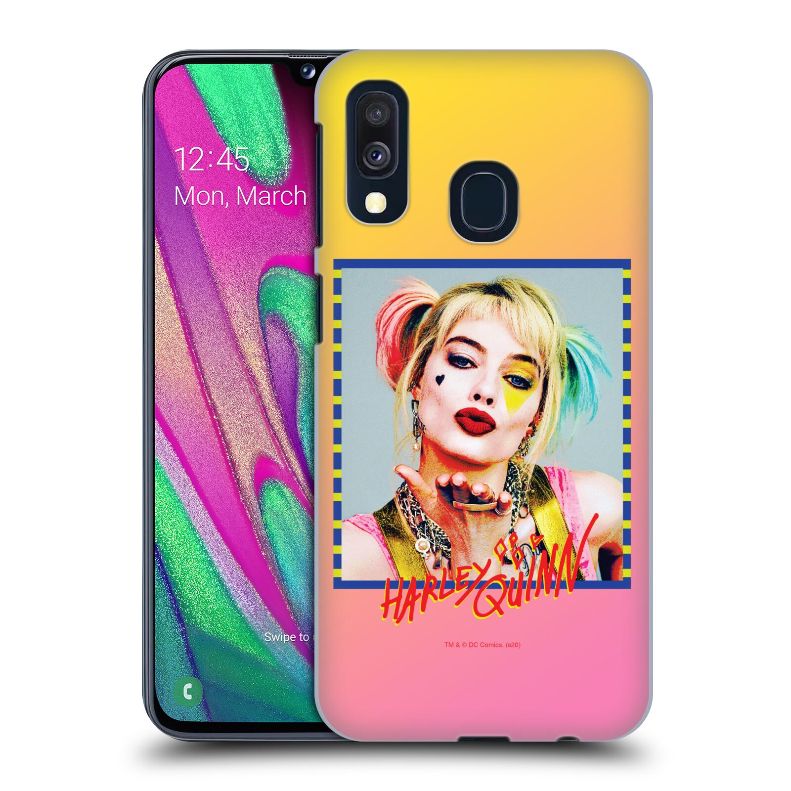Pouzdro na mobil Samsung Galaxy A40 - HEAD CASE - DC komix Harely Quinn