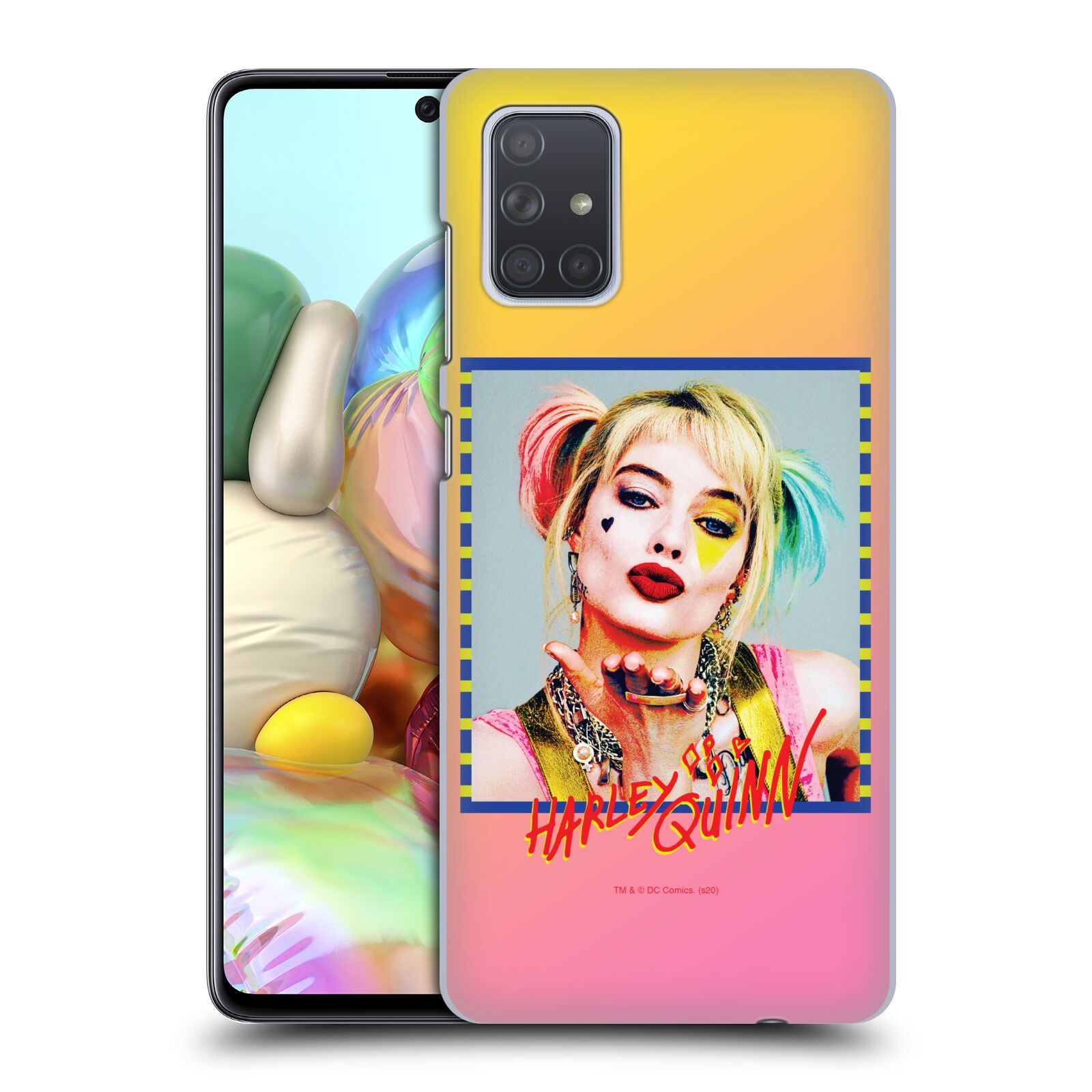 Pouzdro na mobil Samsung Galaxy A71 - HEAD CASE - DC komix Harely Quinn