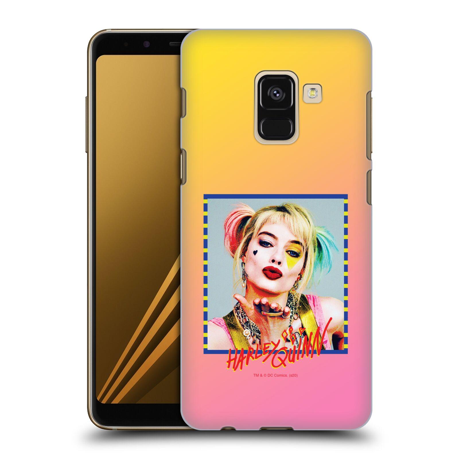 Pouzdro na mobil Samsung Galaxy A8+ 2018, A8 PLUS 2018 - HEAD CASE - DC komix Harely Quinn