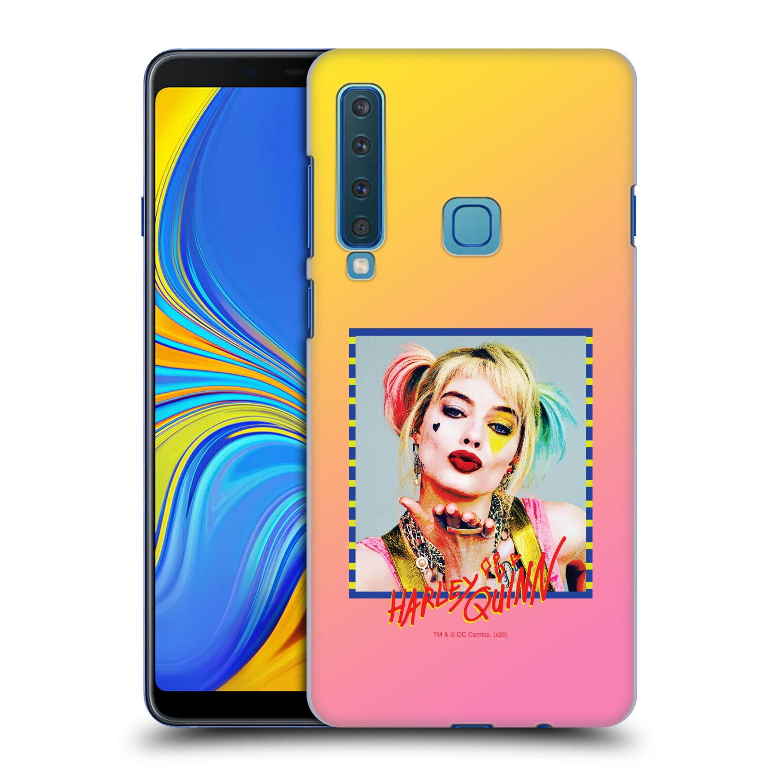 Pouzdro na mobil Samsung Galaxy A9 2018 - HEAD CASE - DC komix Harely Quinn
