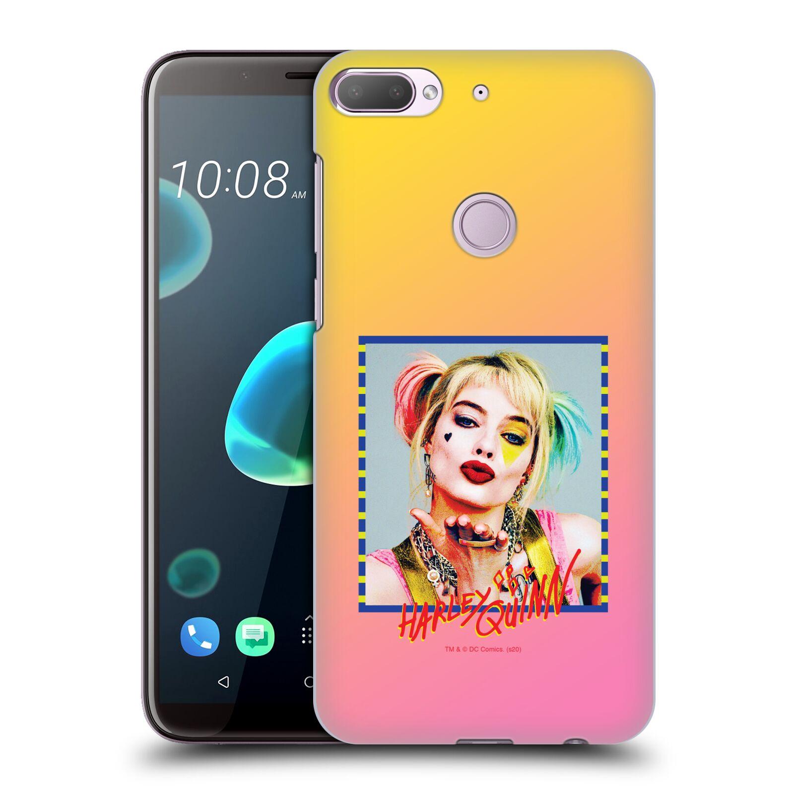 Pouzdro na mobil HTC Desire 12+ / Desire 12+ DUAL SIM - HEAD CASE - DC komix Harely Quinn