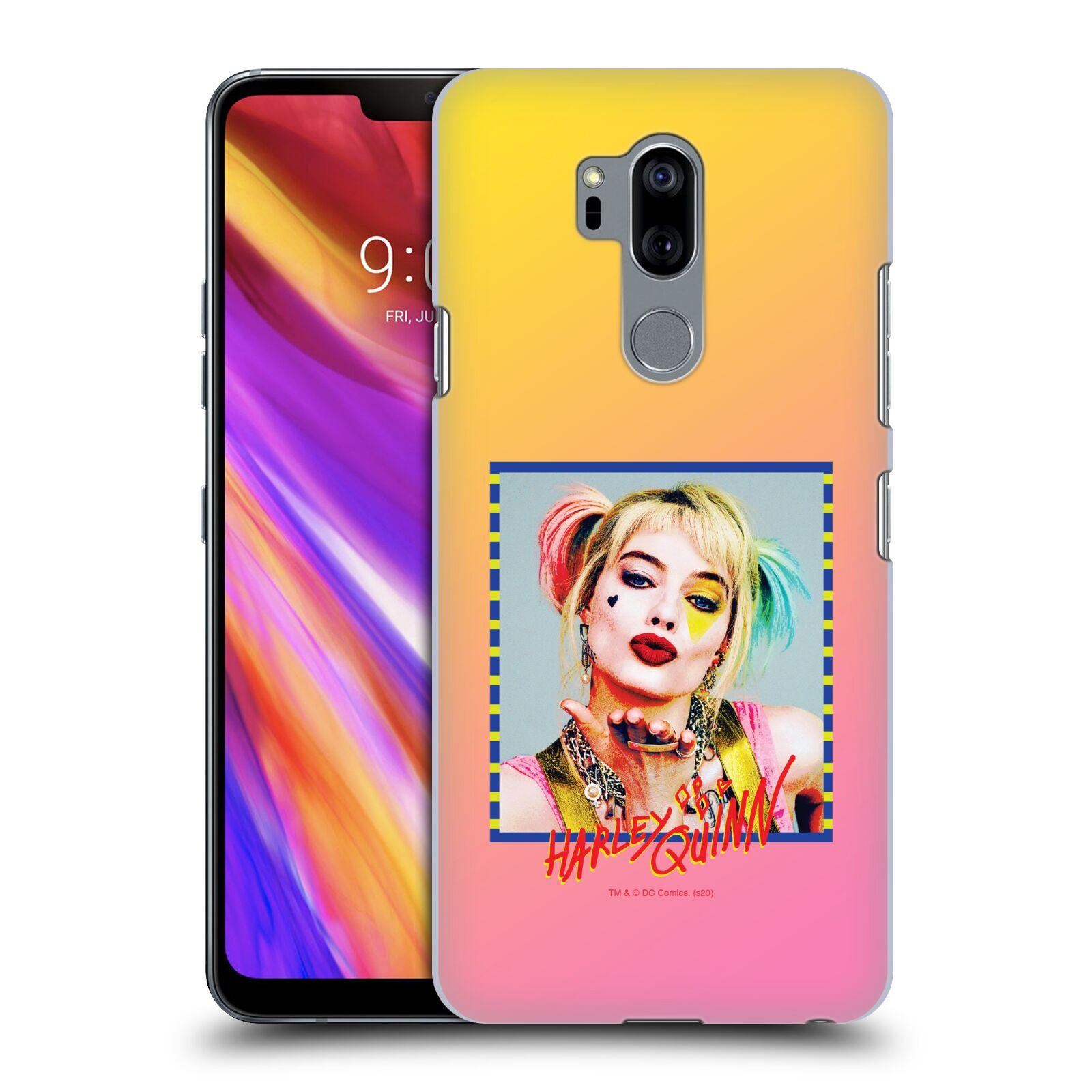 Pouzdro na mobil LG G7  ThinQ - HEAD CASE - DC komix Harely Quinn