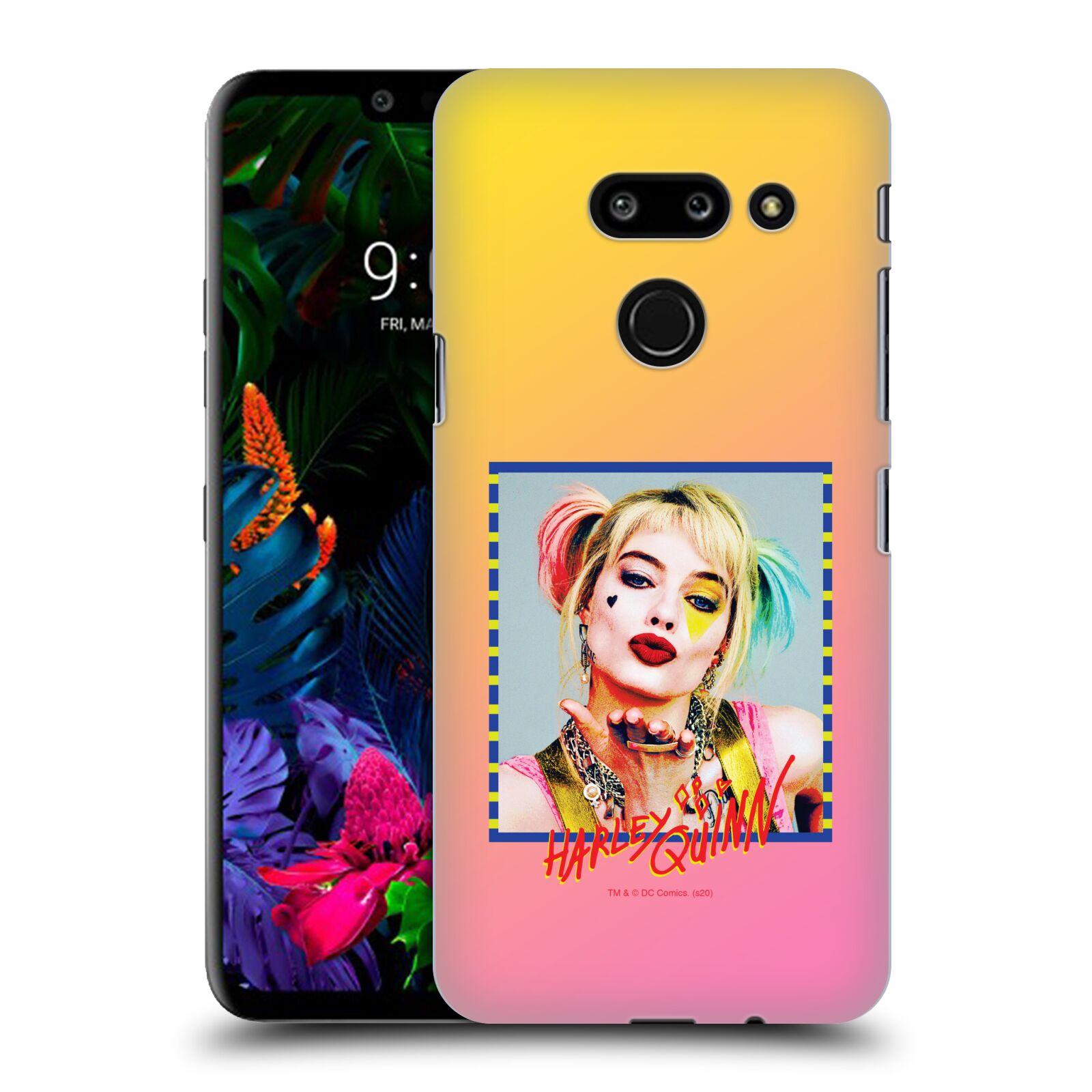 Pouzdro na mobil LG G8 ThinQ - HEAD CASE - DC komix Harely Quinn