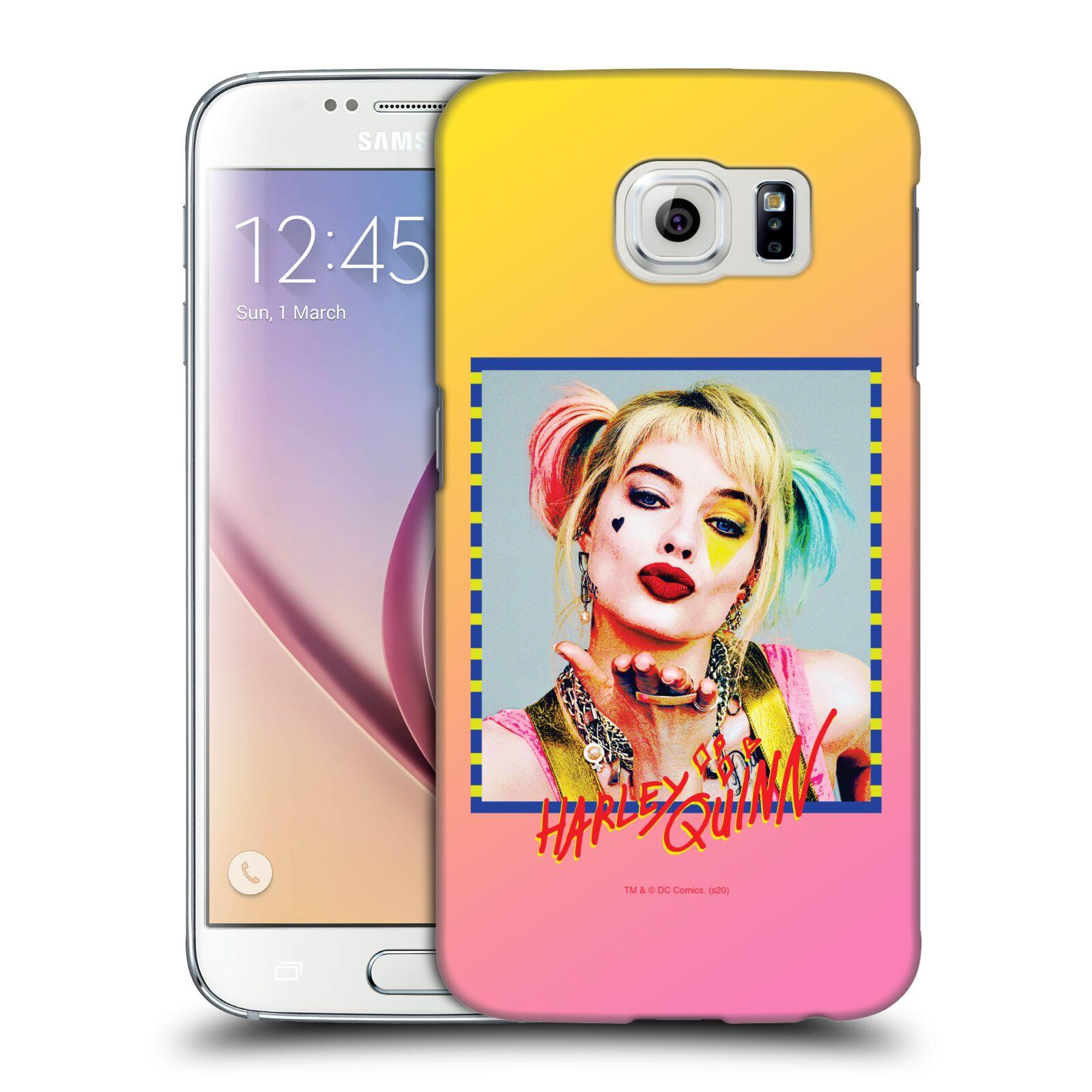 Pouzdro na mobil Samsung Galaxy S6 - HEAD CASE - DC komix Harely Quinn