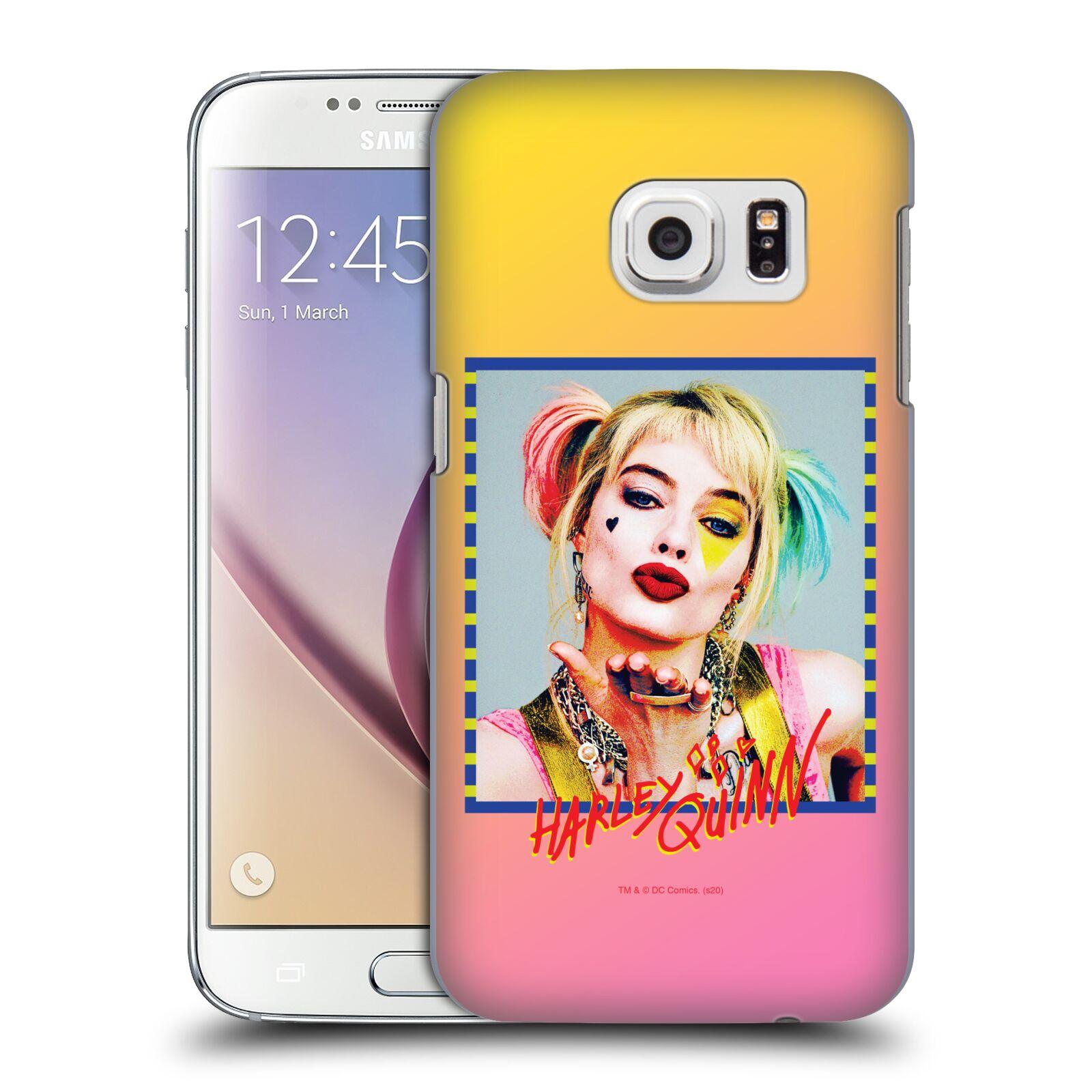 Pouzdro na mobil Samsung Galaxy S7 - HEAD CASE - DC komix Harely Quinn