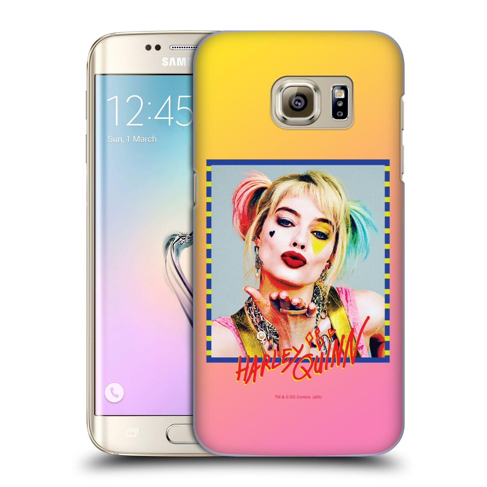 Pouzdro na mobil Samsung Galaxy S7 EDGE - HEAD CASE - DC komix Harely Quinn