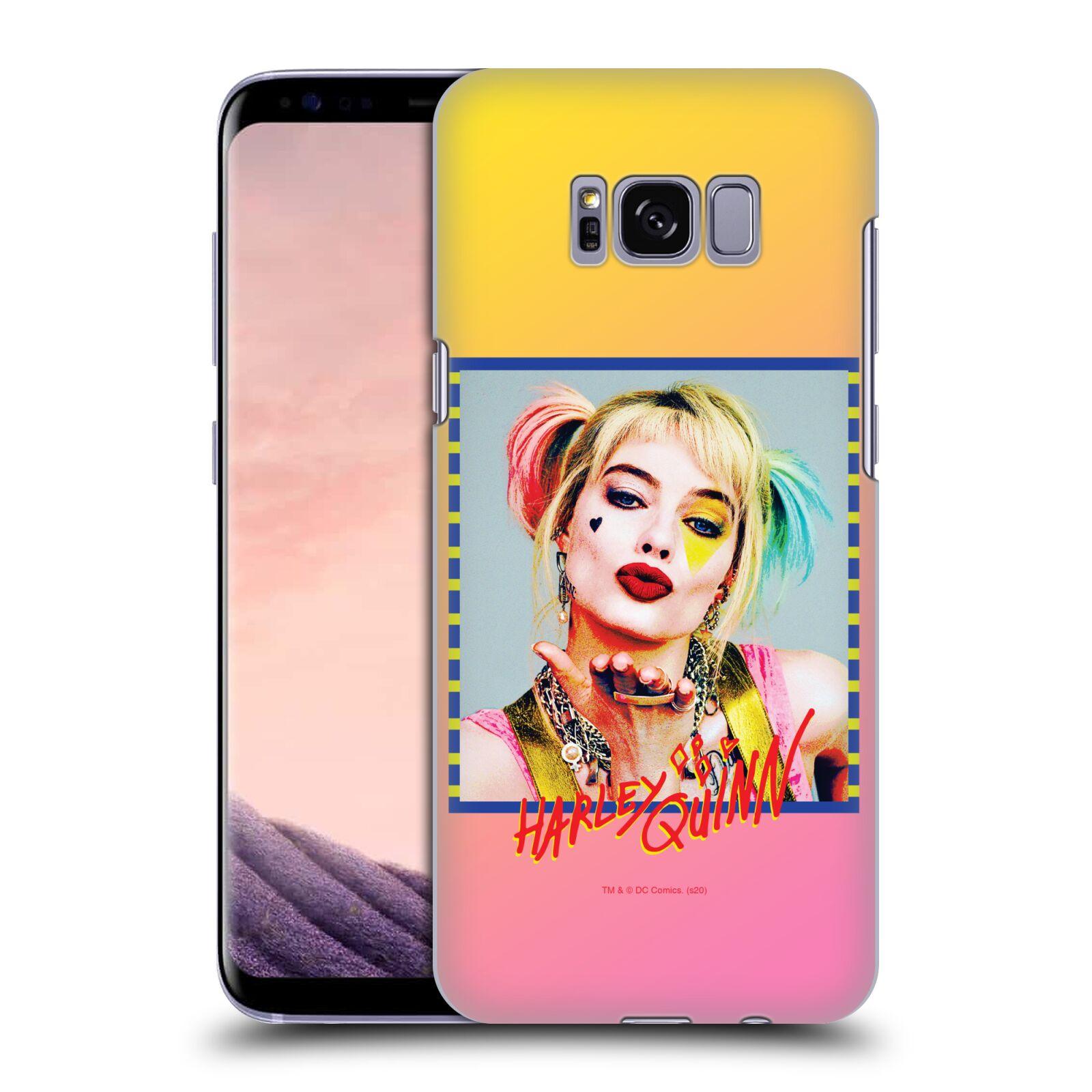 Pouzdro na mobil Samsung Galaxy S8 - HEAD CASE - DC komix Harely Quinn