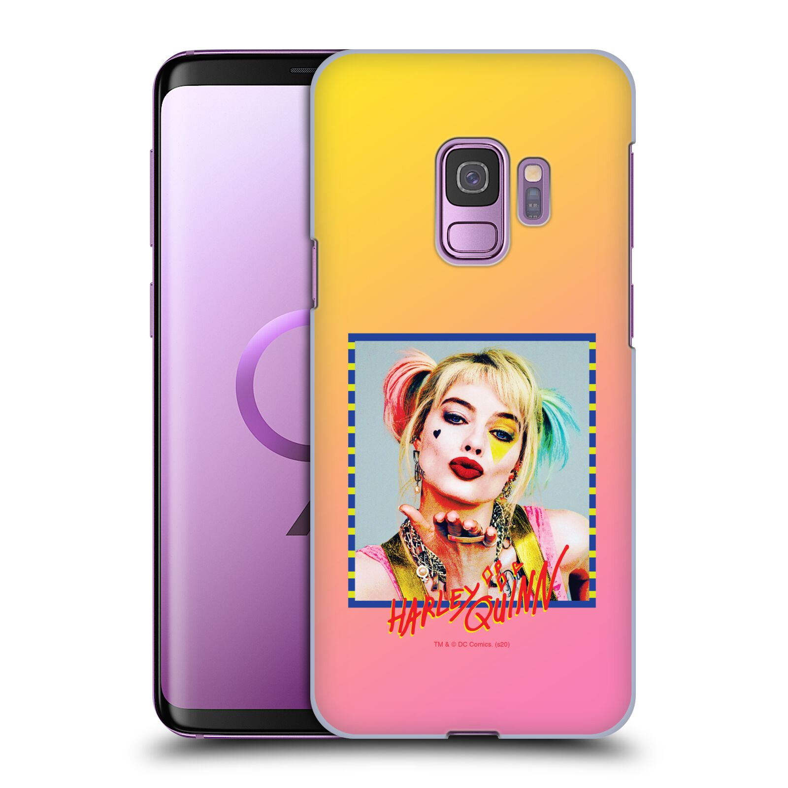 Pouzdro na mobil Samsung Galaxy S9 - HEAD CASE - DC komix Harely Quinn