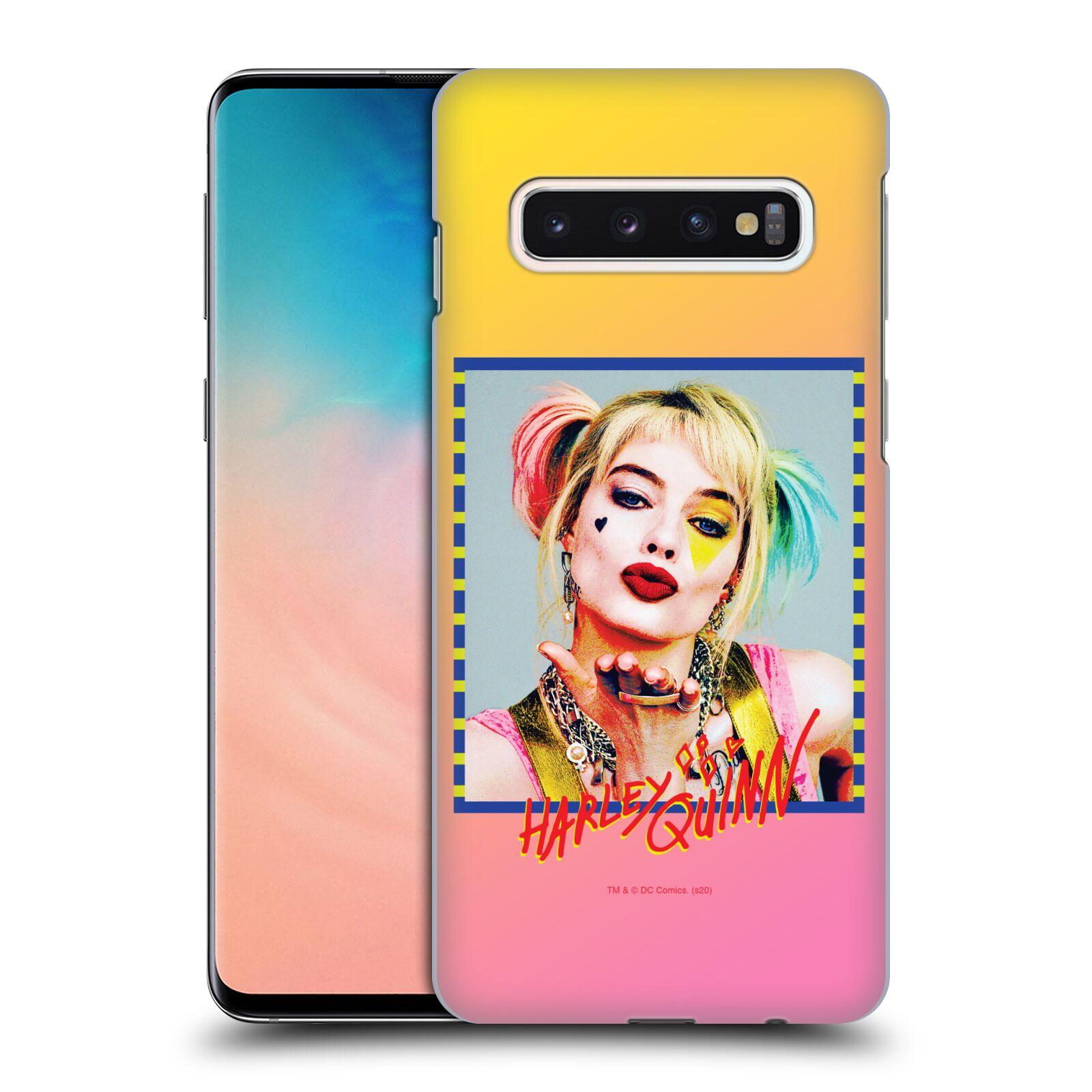 Pouzdro na mobil Samsung Galaxy S10 - HEAD CASE - DC komix Harely Quinn