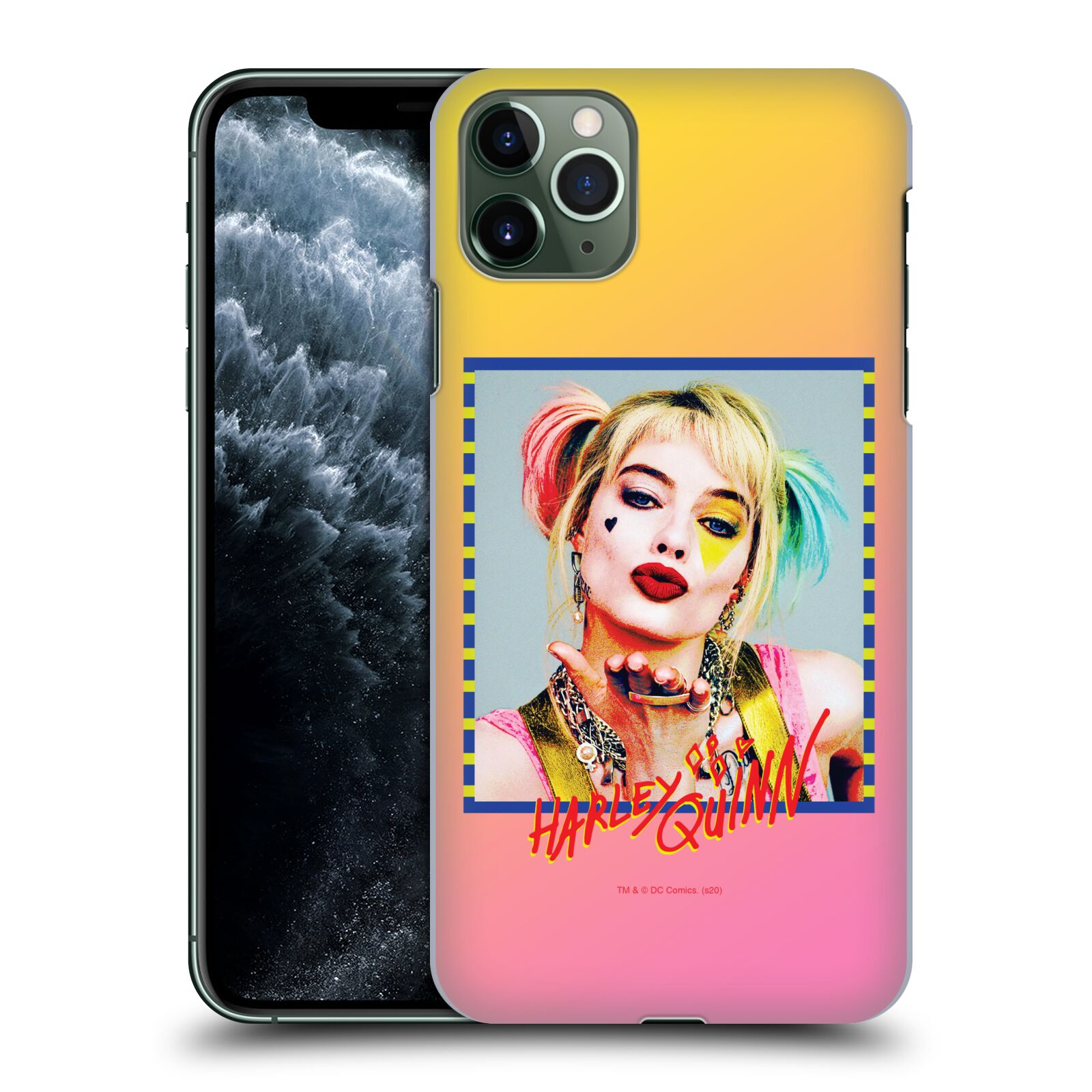 Pouzdro na mobil Apple Iphone 11 PRO MAX - HEAD CASE - DC komix Harely Quinn