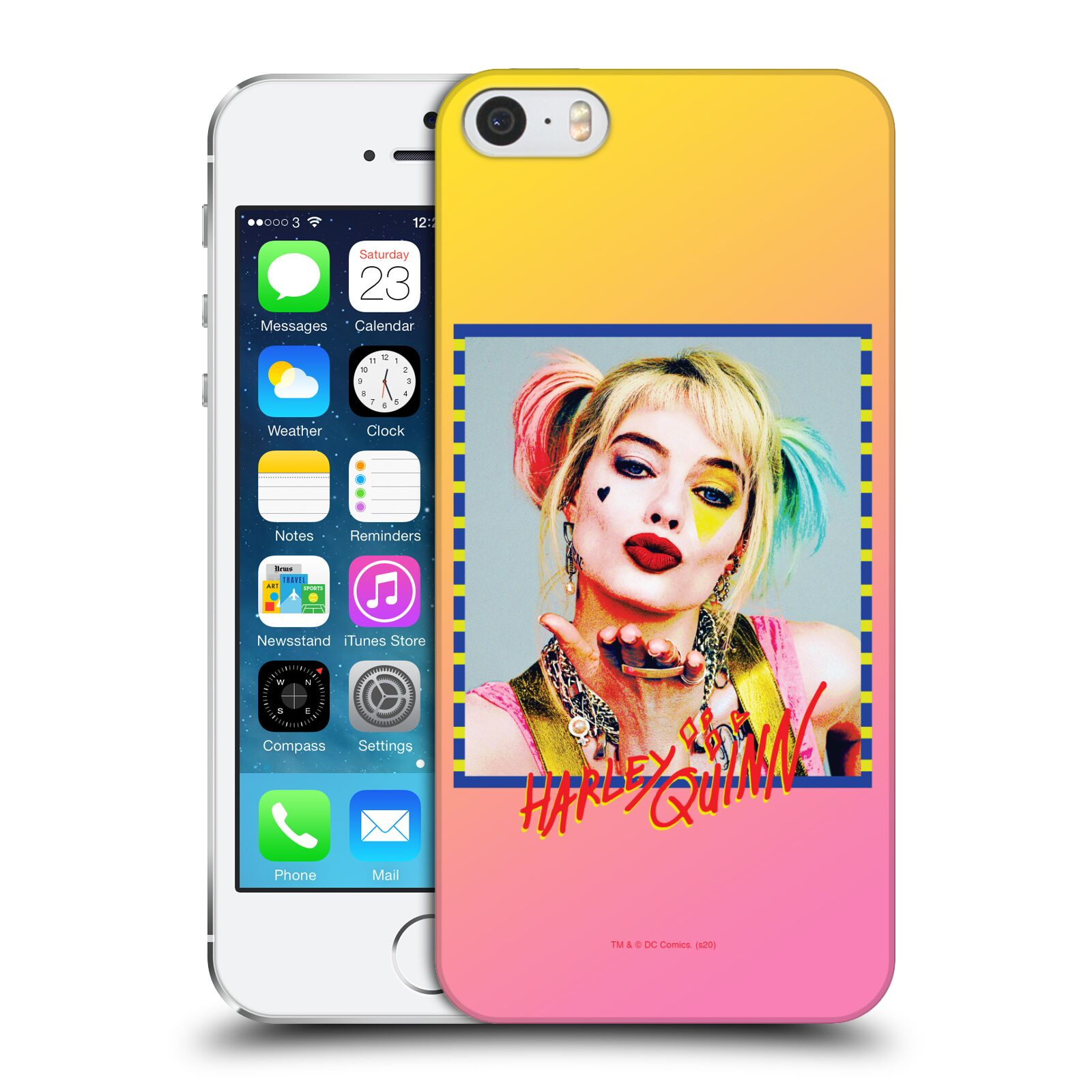 Pouzdro na mobil Apple Iphone 5/5S - HEAD CASE - DC komix Harely Quinn