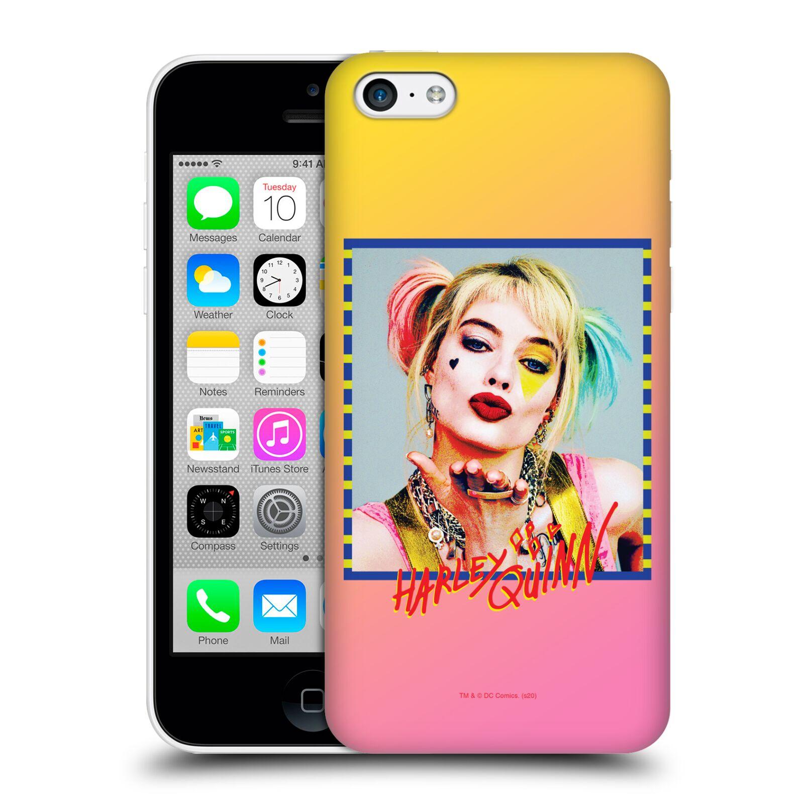 Pouzdro na mobil Apple Iphone 5C - HEAD CASE - DC komix Harely Quinn