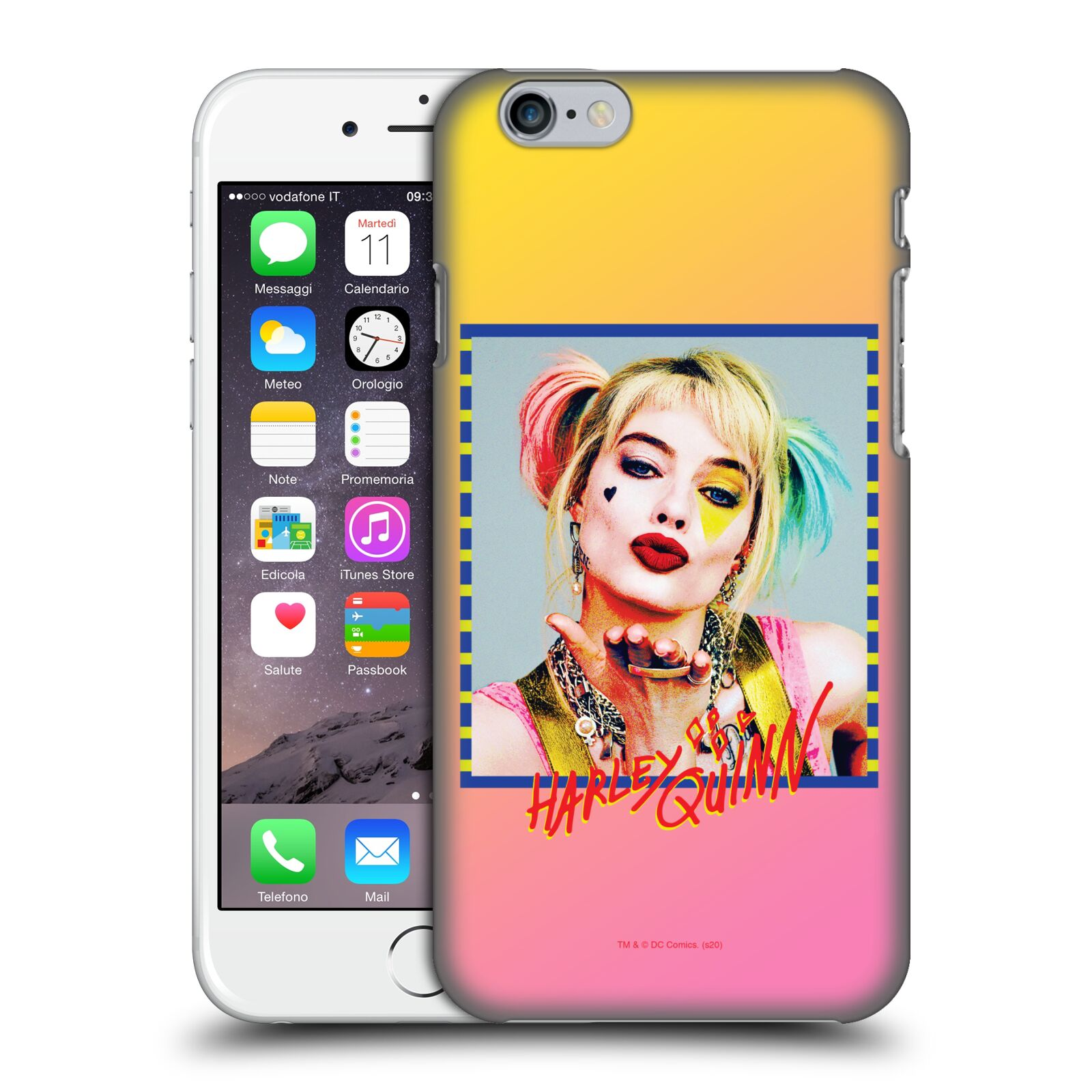 Pouzdro na mobil Apple Iphone 6/6S - HEAD CASE - DC komix Harely Quinn