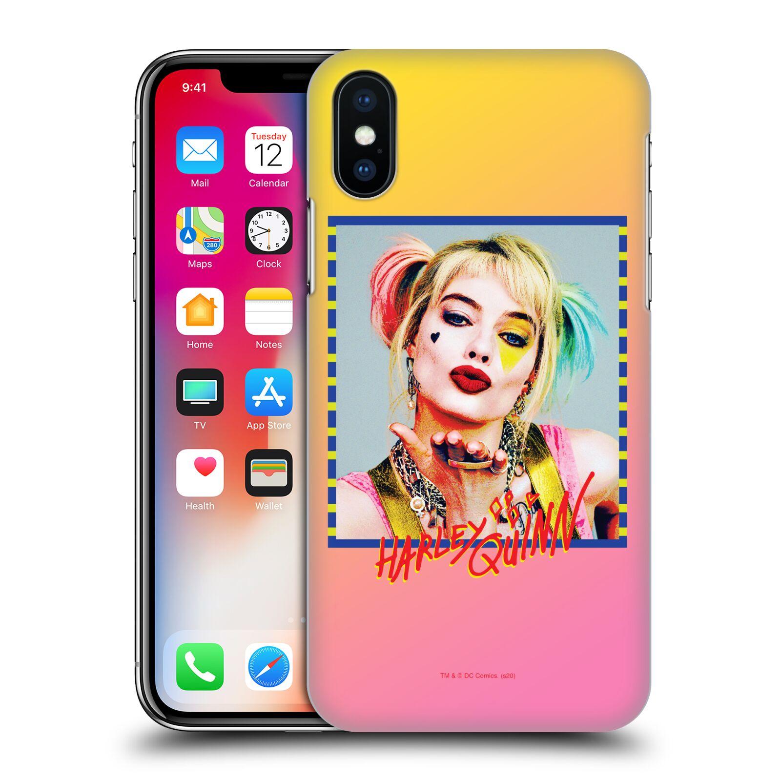 Pouzdro na mobil Apple Iphone X/XS - HEAD CASE - DC komix Harely Quinn