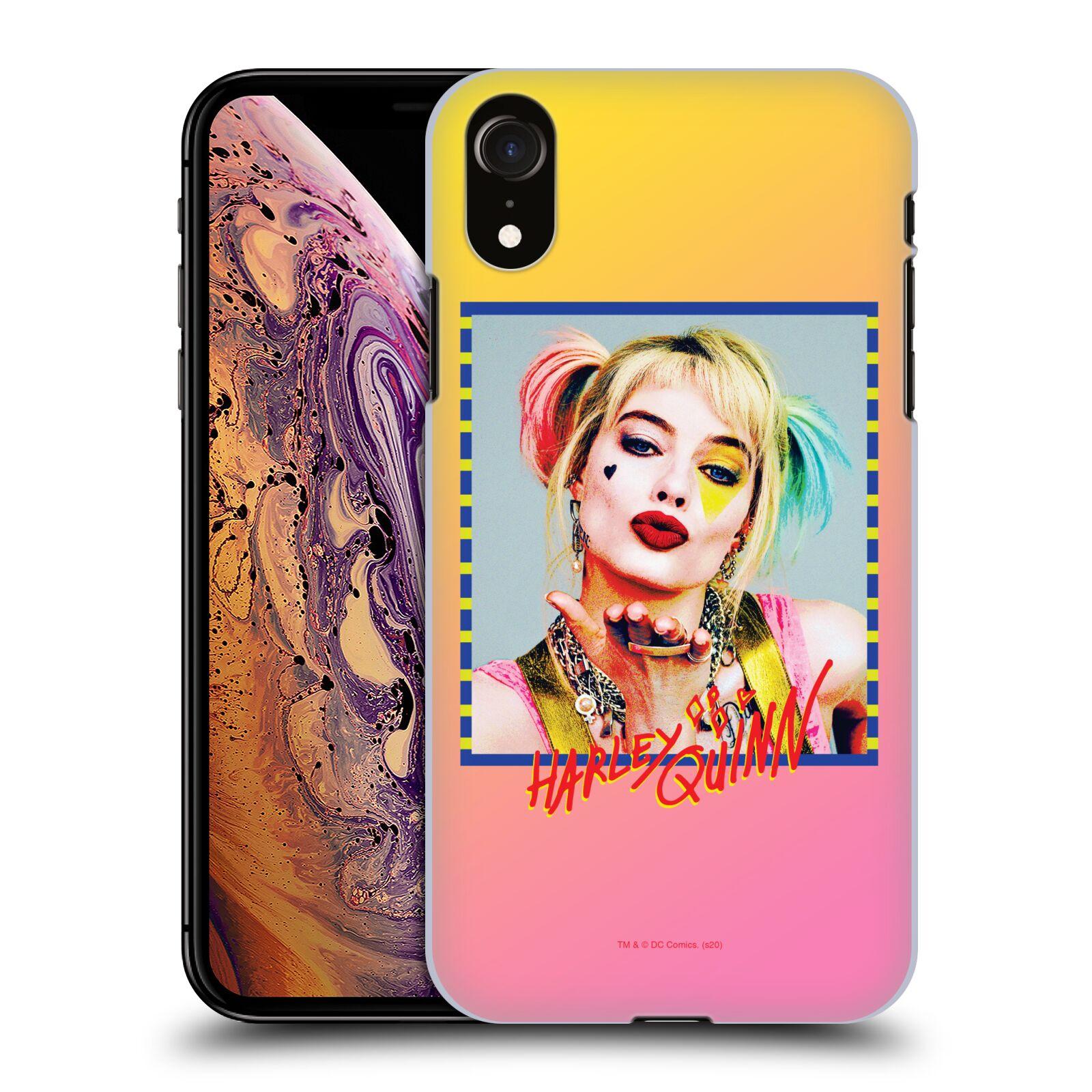 Pouzdro na mobil Apple Iphone XR - HEAD CASE - DC komix Harely Quinn