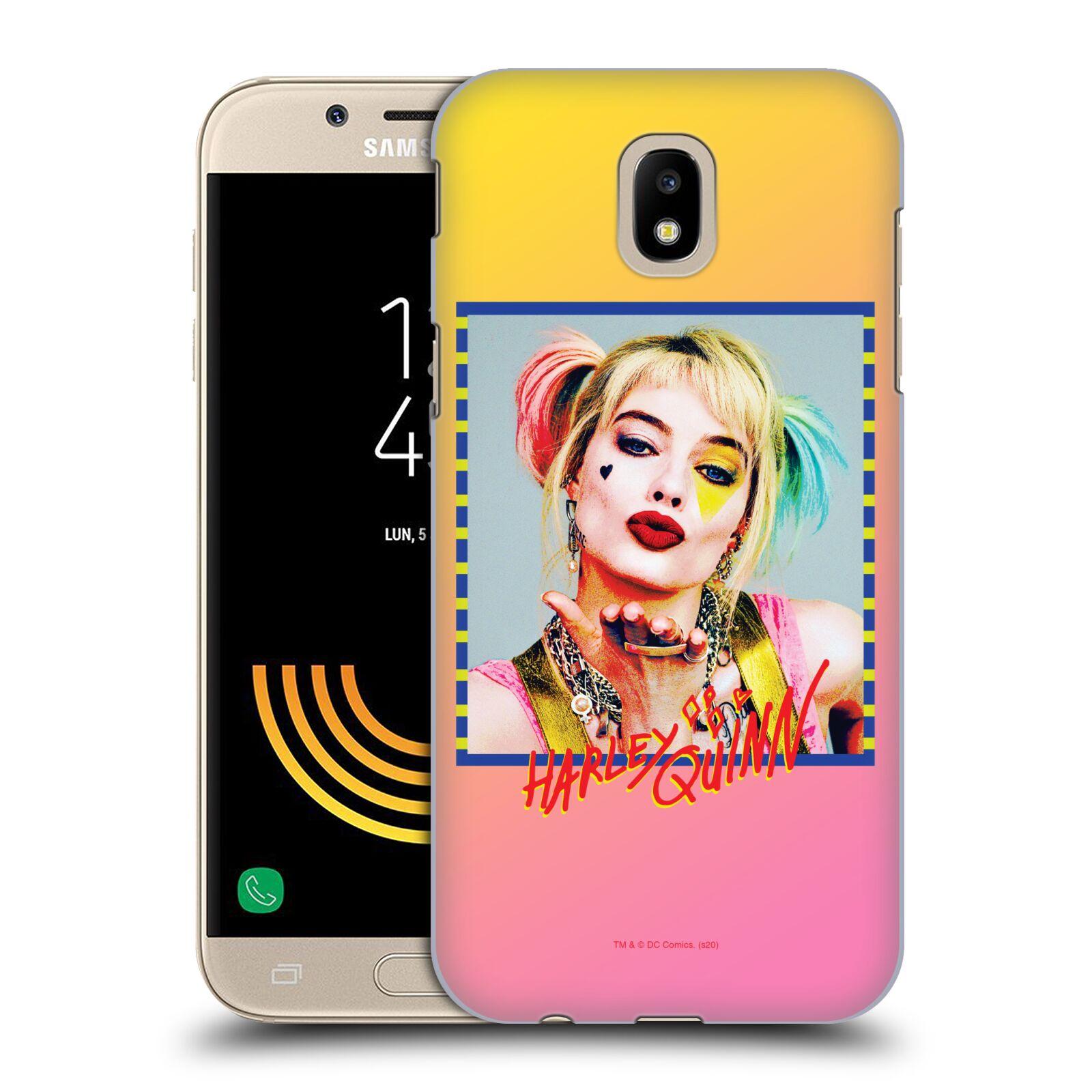 Pouzdro na mobil Samsung Galaxy J5 2017 - HEAD CASE - DC komix Harely Quinn