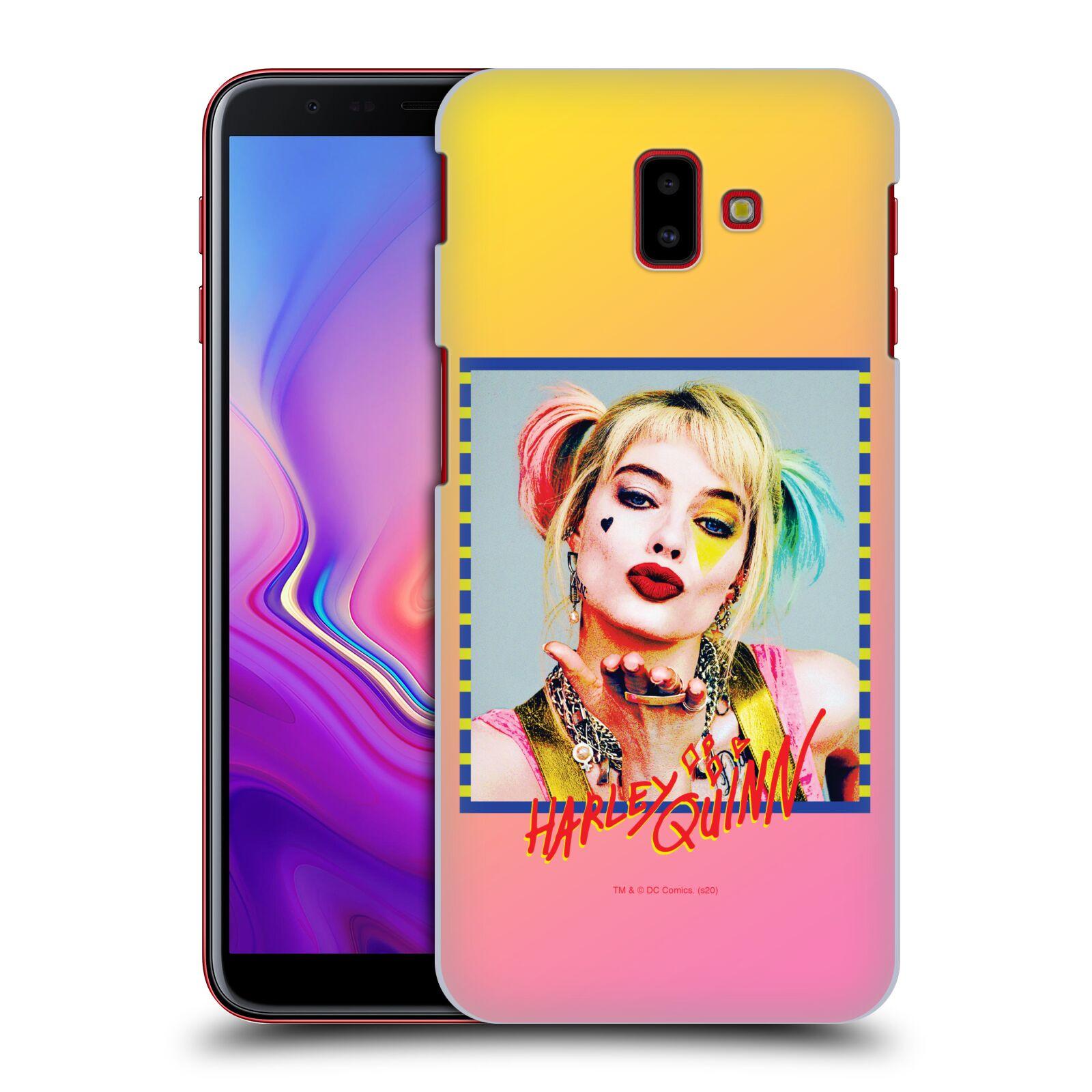 Pouzdro na mobil Samsung Galaxy J6+ - HEAD CASE - DC komix Harely Quinn
