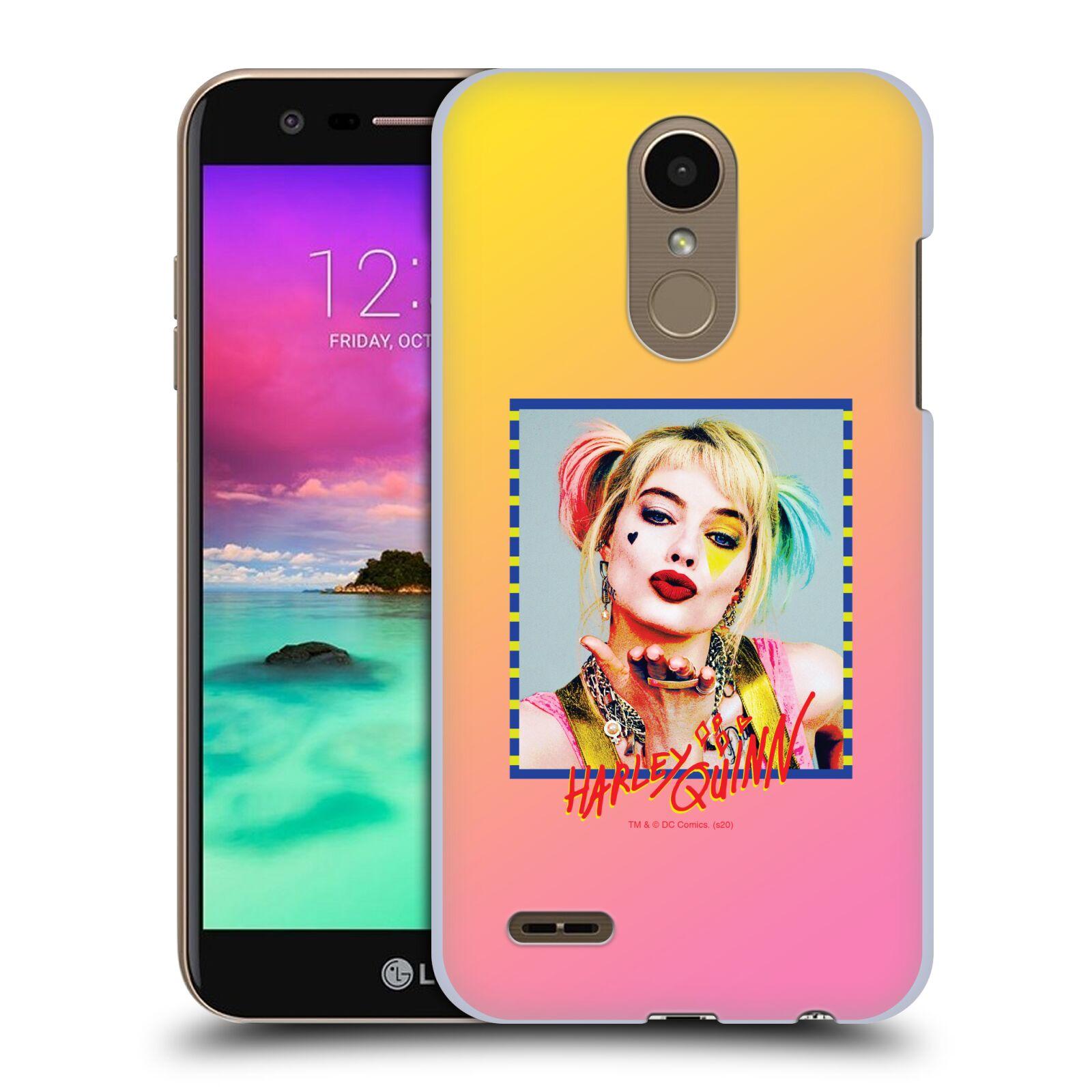 Pouzdro na mobil LG K10 2018 - HEAD CASE - DC komix Harely Quinn
