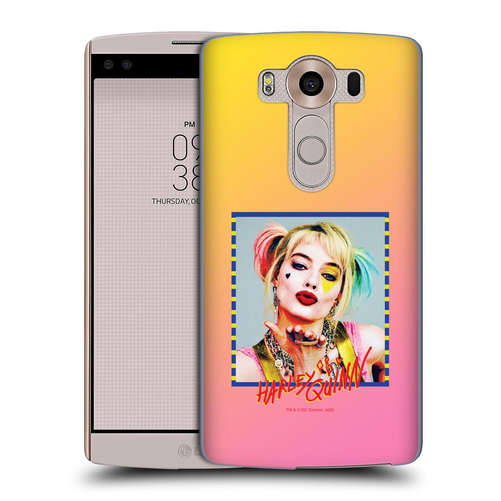 Pouzdro na mobil LG V10 - HEAD CASE - DC komix Harely Quinn