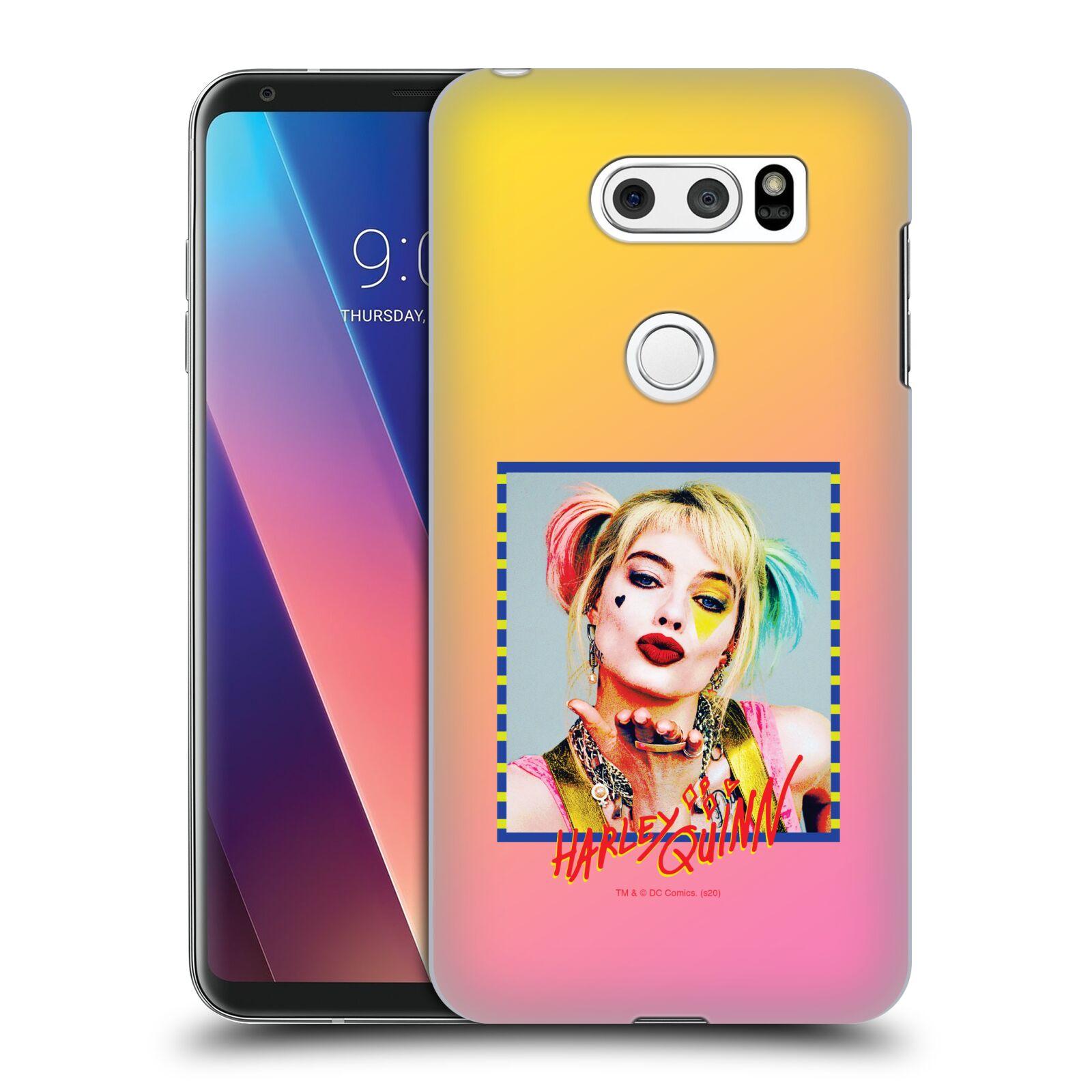 Pouzdro na mobil LG V30 - HEAD CASE - DC komix Harely Quinn