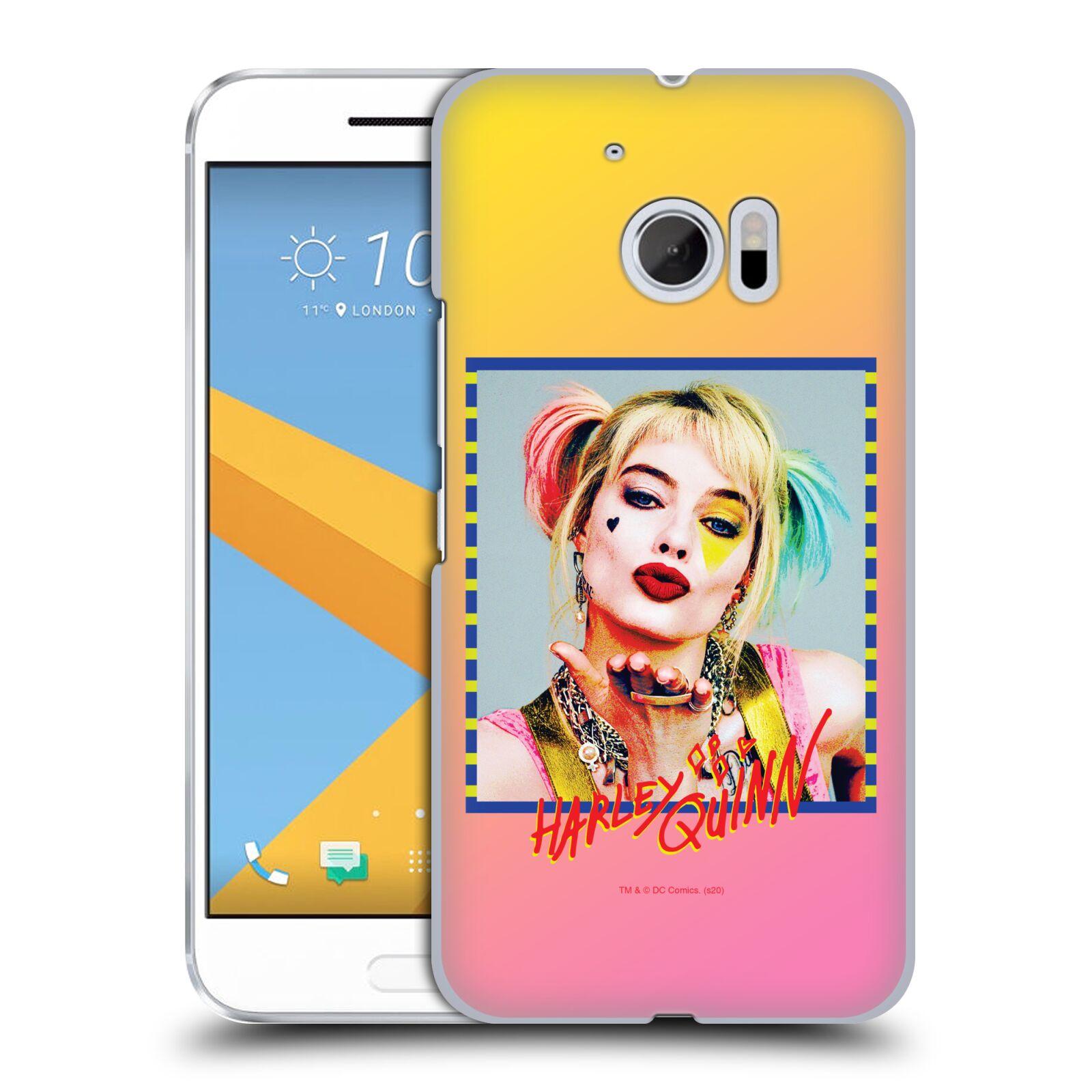 Pouzdro na mobil HTC 10 - HEAD CASE - DC komix Harely Quinn