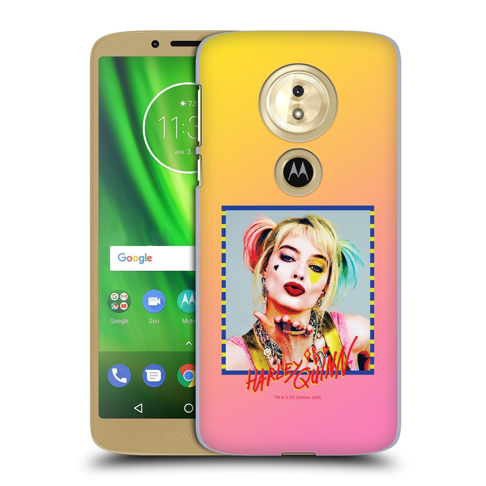 Pouzdro na mobil Motorola Moto E5 - HEAD CASE - DC komix Harely Quinn