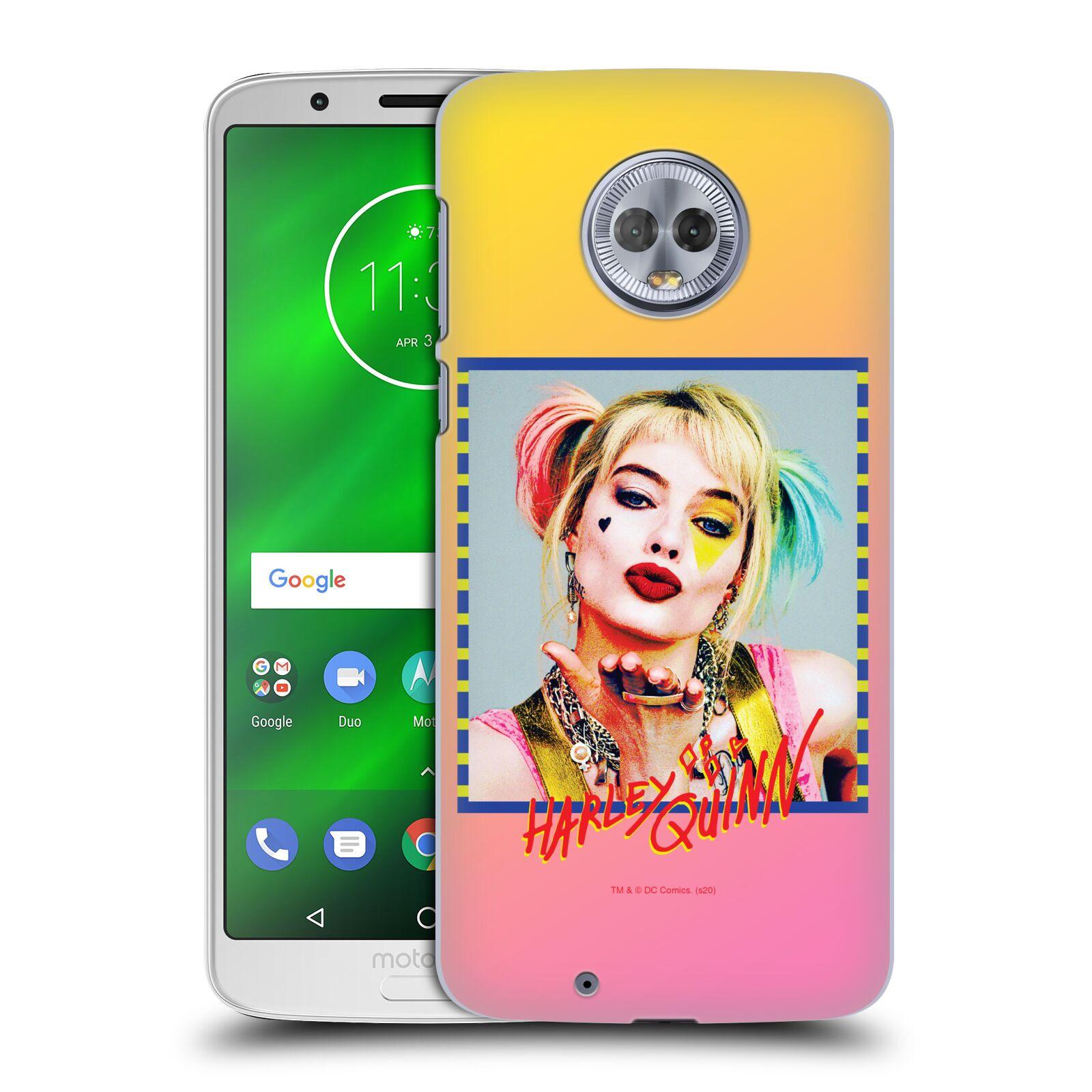 Pouzdro na mobil Motorola Moto G6 - HEAD CASE - DC komix Harely Quinn