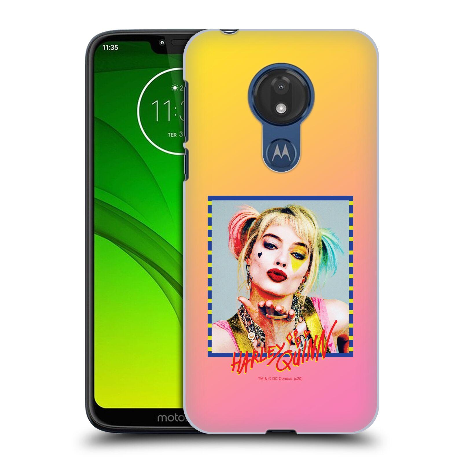 Pouzdro na mobil Motorola Moto G7 POWER - HEAD CASE - DC komix Harely Quinn