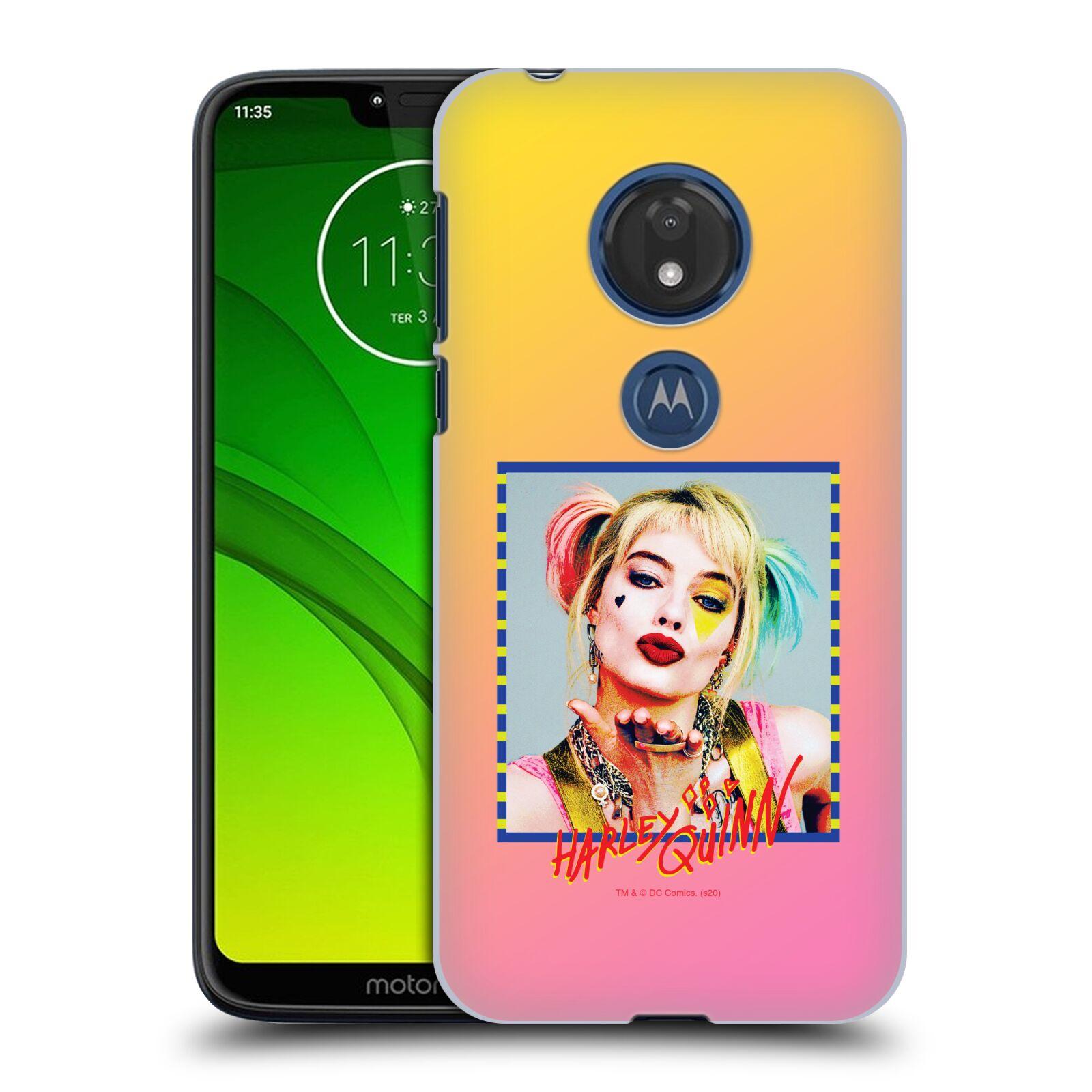 Pouzdro na mobil Motorola Moto G7 Play - HEAD CASE - DC komix Harely Quinn