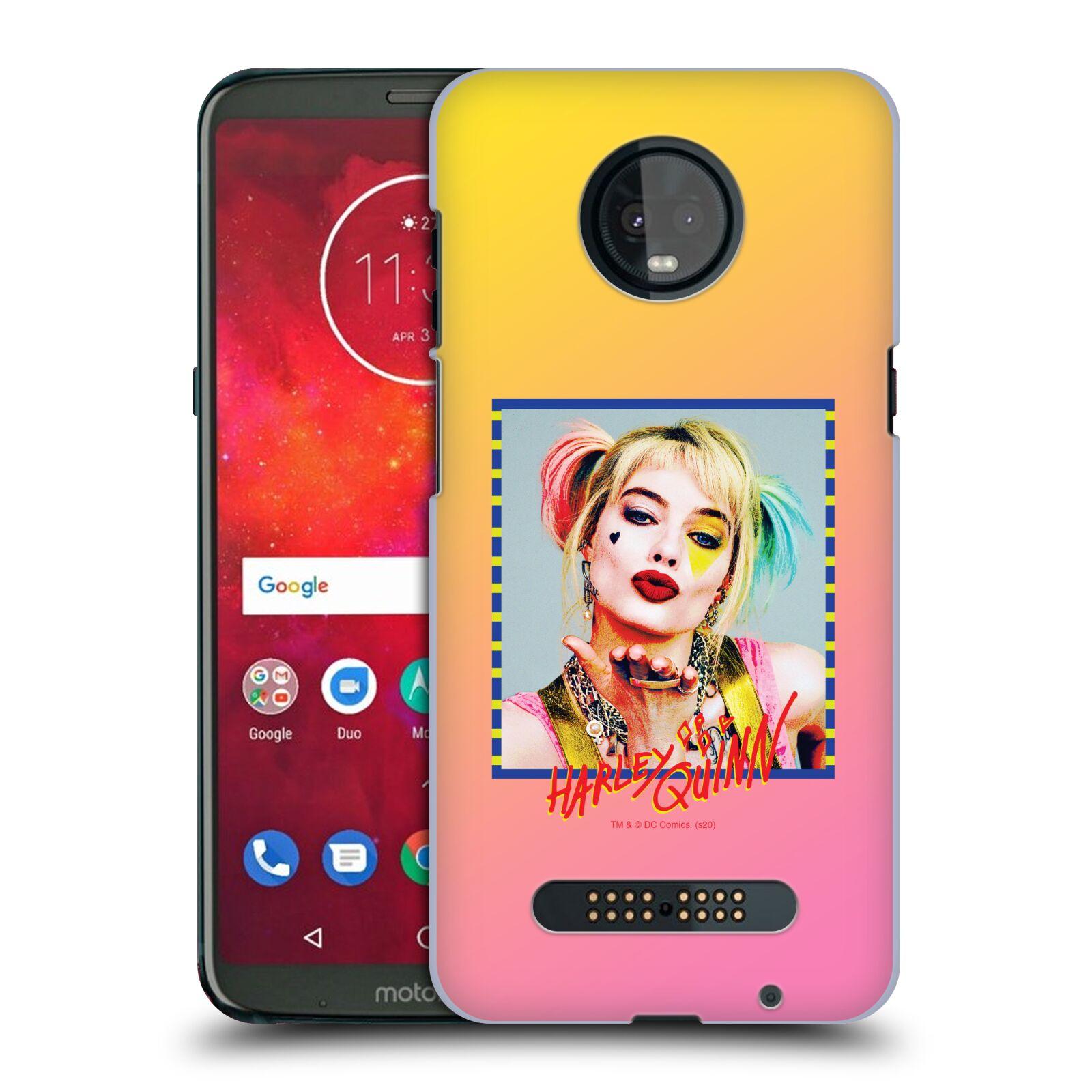 Pouzdro na mobil Motorola Moto Z3 PLAY - HEAD CASE - DC komix Harely Quinn