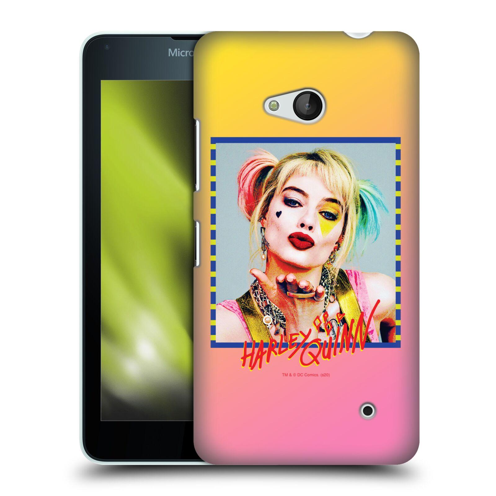 Pouzdro na mobil Microsoft Lumia 640 / 640 DUAL SIM - HEAD CASE - DC komix Harely Quinn