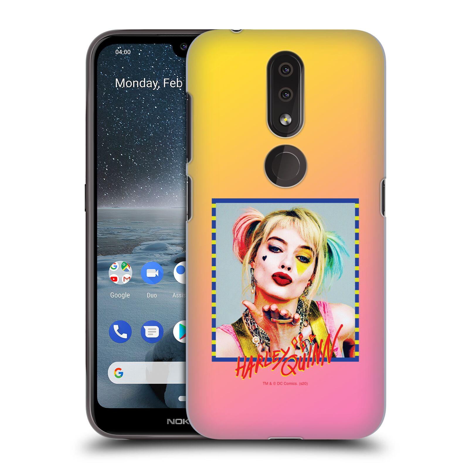 Pouzdro na mobil Nokia 4.2 - HEAD CASE - DC komix Harely Quinn