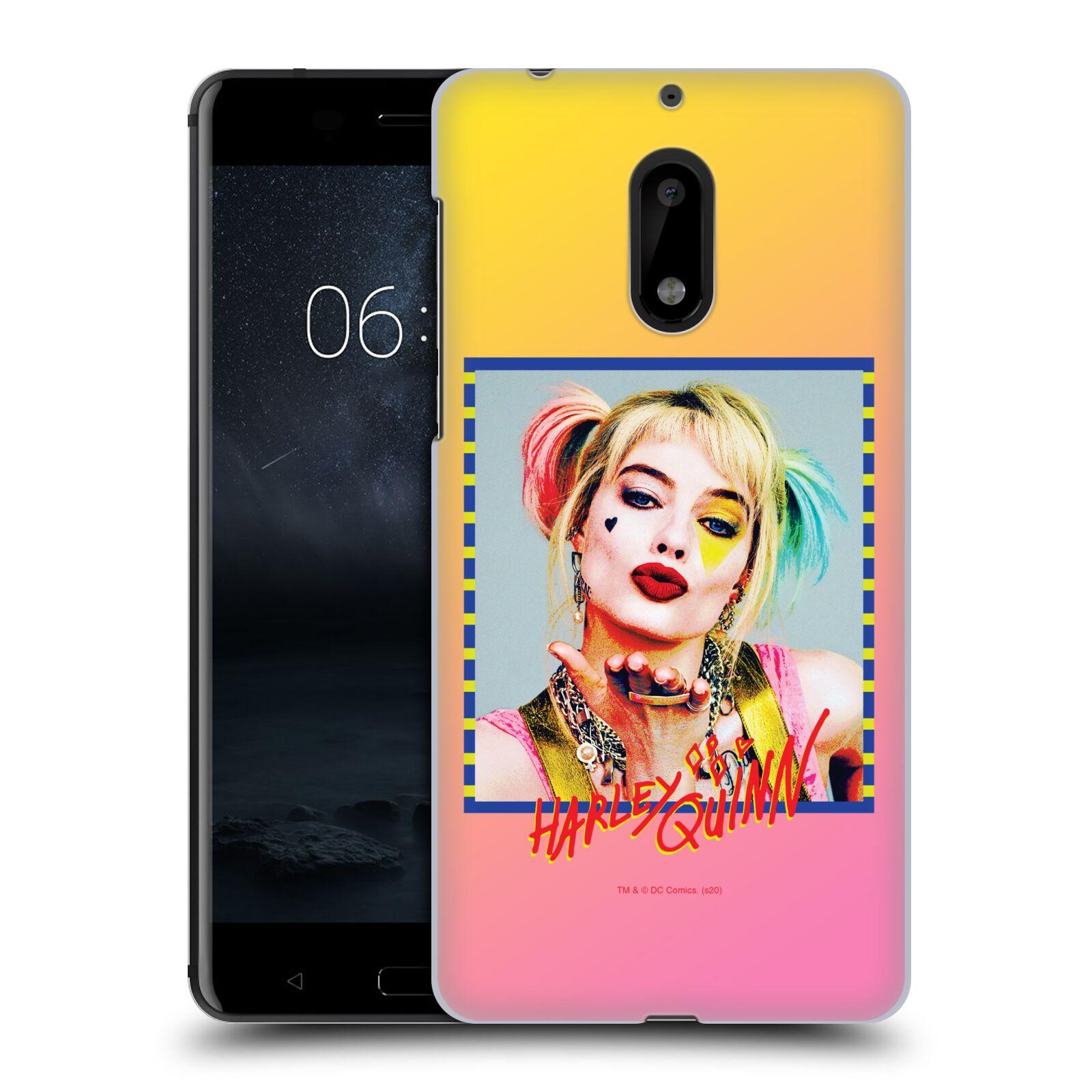 Pouzdro na mobil Nokia 6 - HEAD CASE - DC komix Harely Quinn