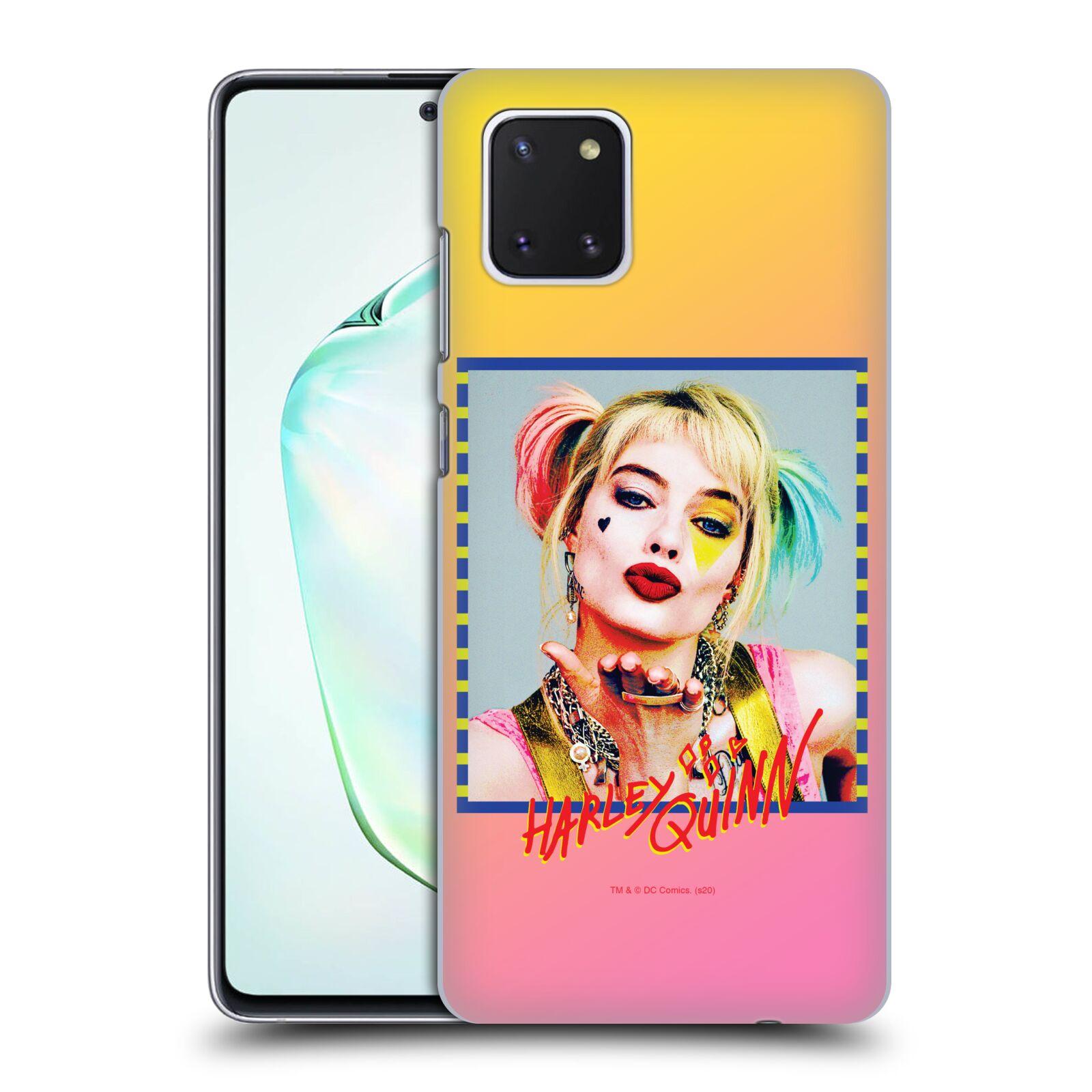 Pouzdro na mobil Samsung Galaxy Note 10 LITE - HEAD CASE - DC komix Harely Quinn