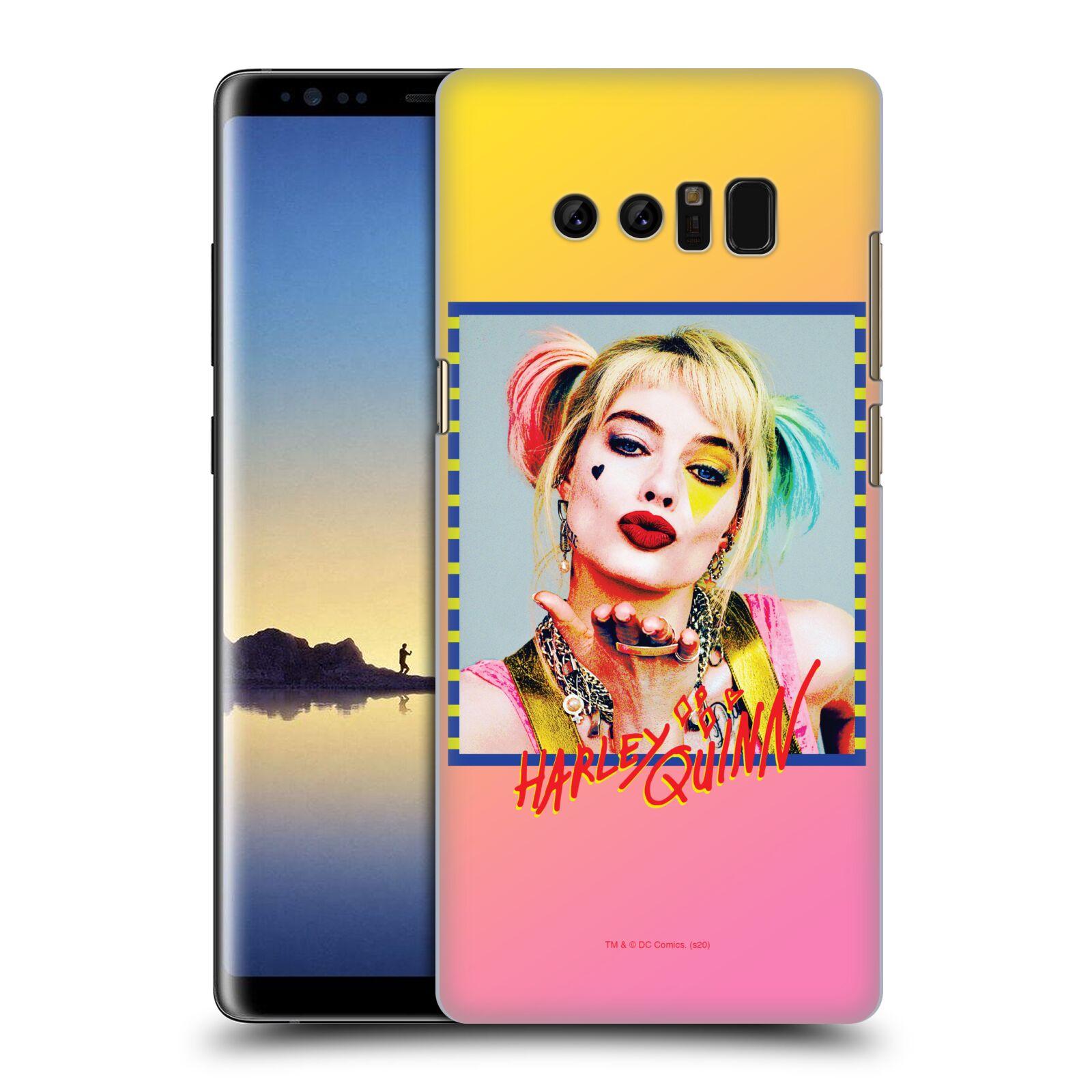 Pouzdro na mobil Samsung Galaxy Note 8 - HEAD CASE - DC komix Harely Quinn