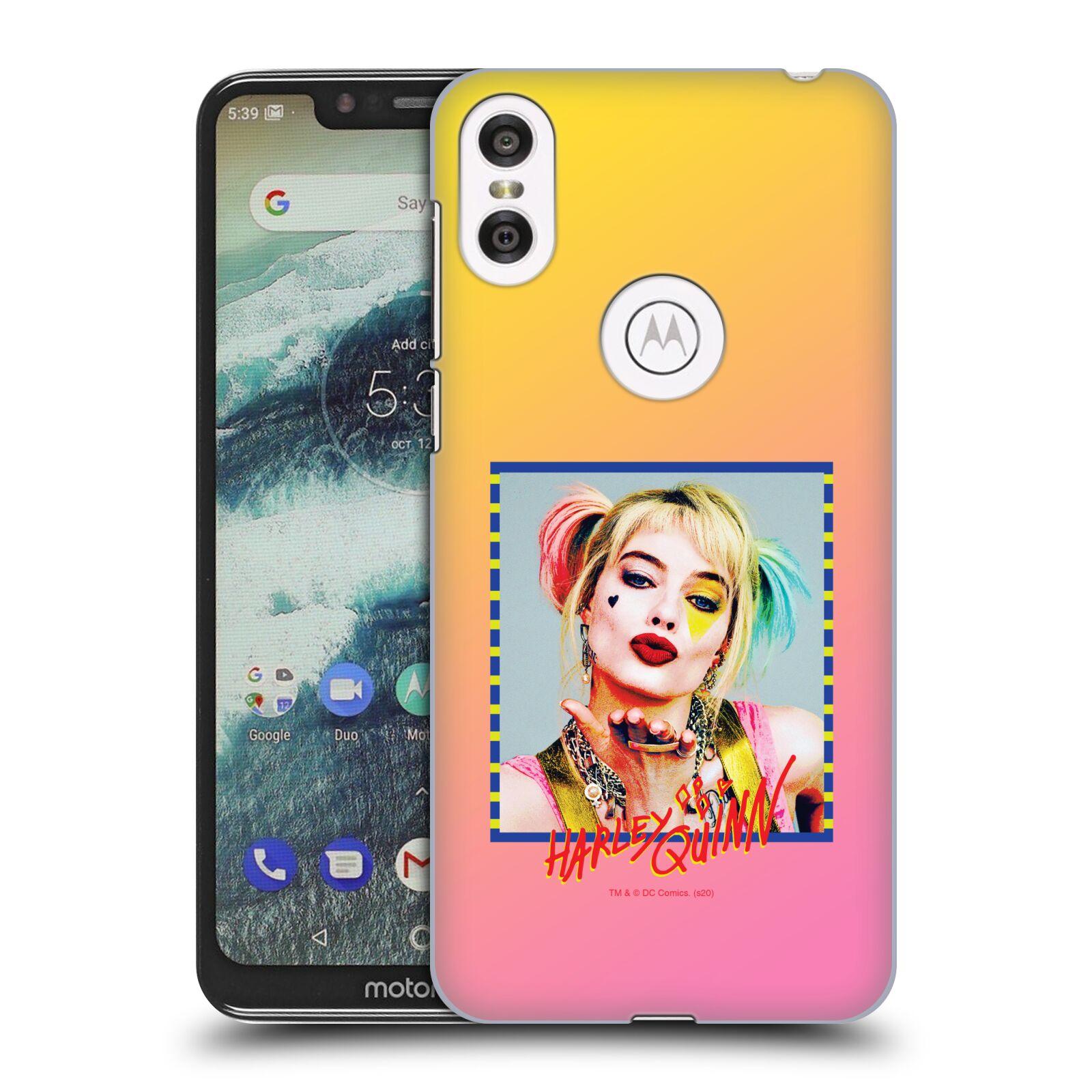 Pouzdro na mobil Motorola Moto ONE - HEAD CASE - DC komix Harely Quinn